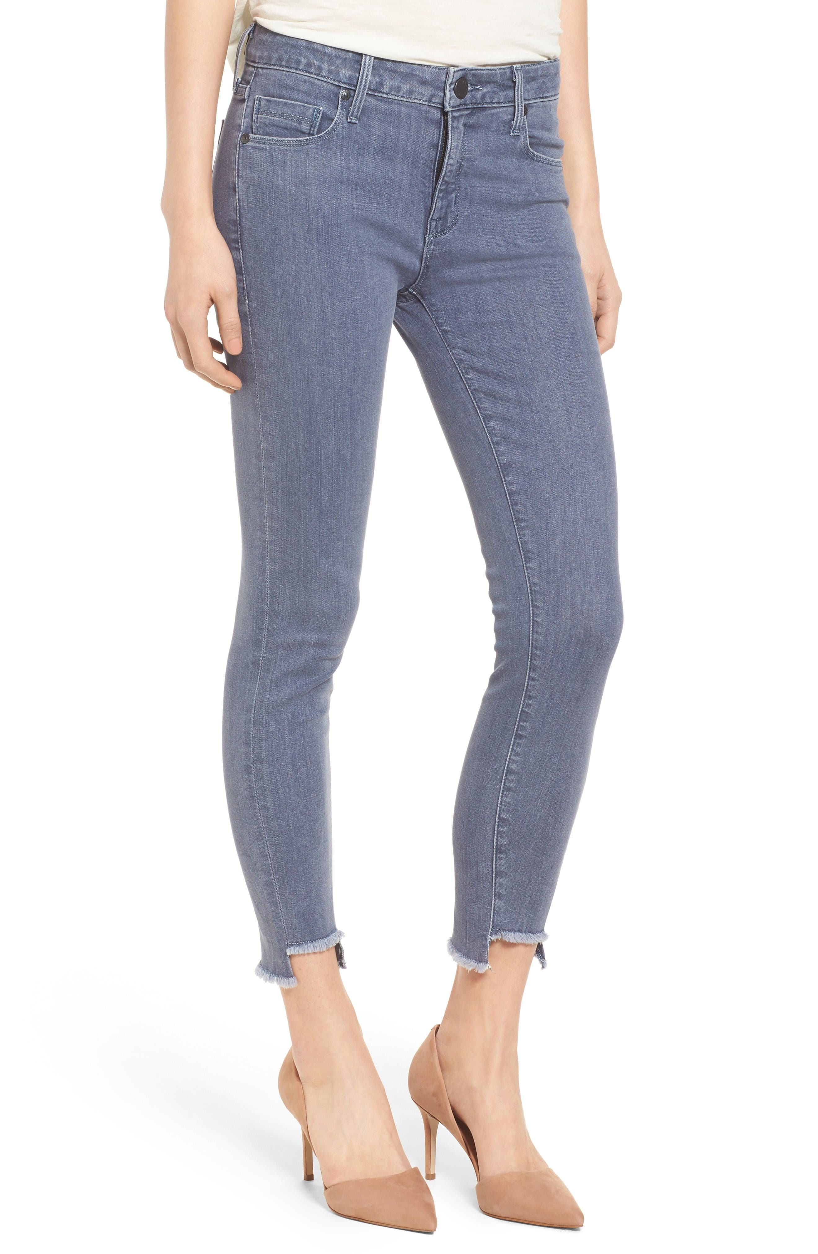 PARKER SMITH Twisted Seam Skinny Jeans (Slate)