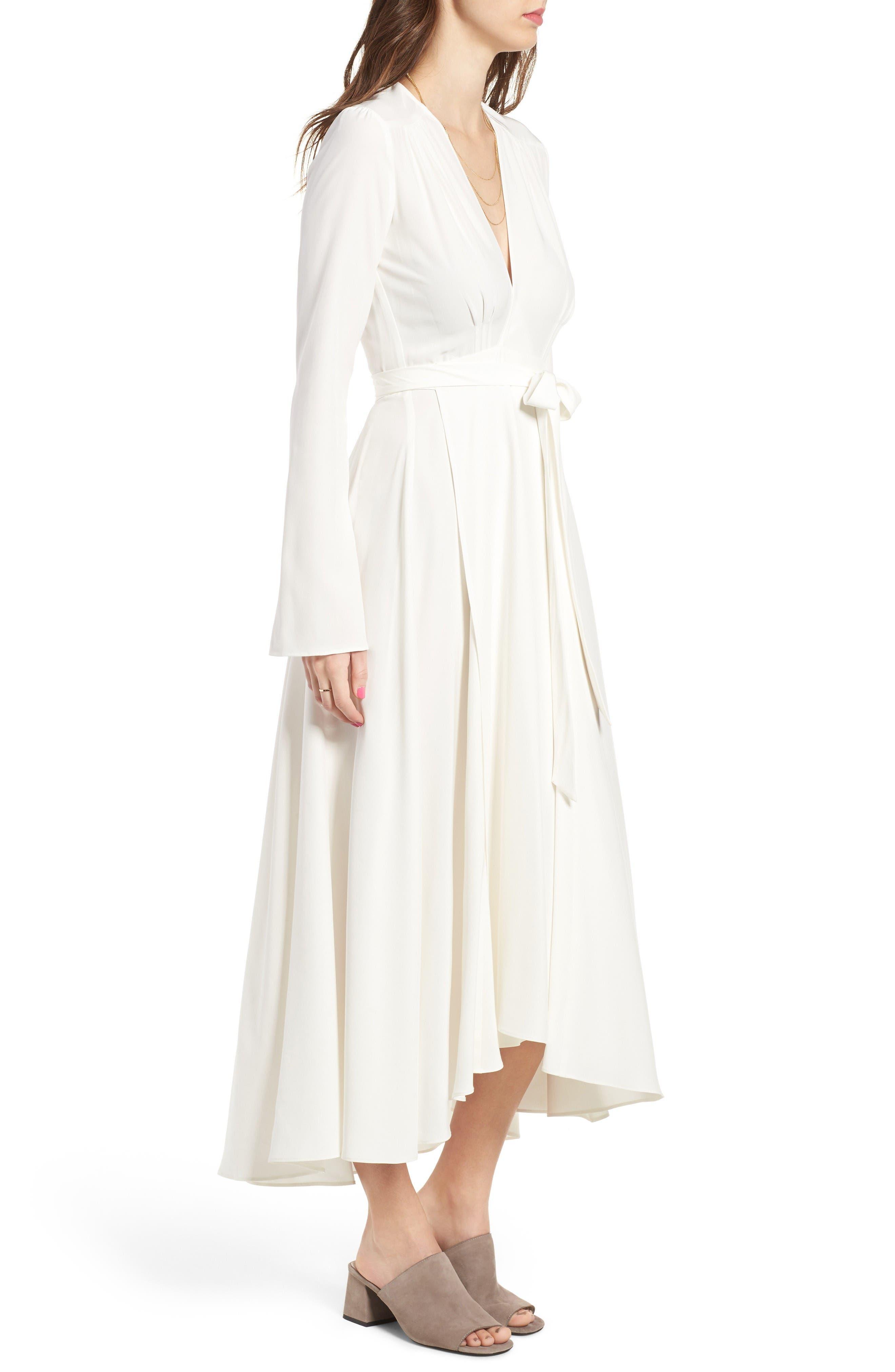 Alternate Image 3  - Stone Cold Fox Nico Silk Wrap Dress