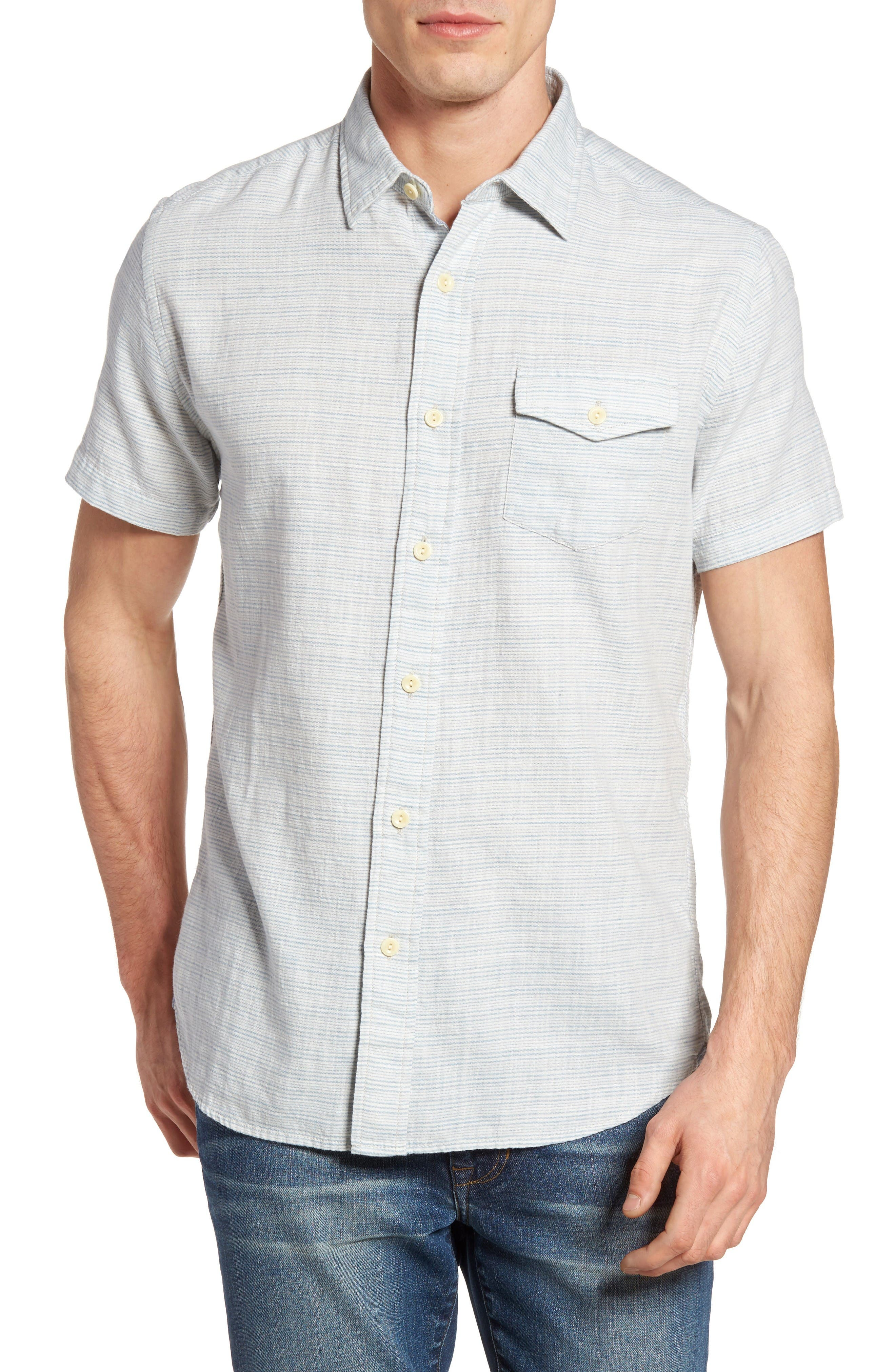 Grayers Horizon Stripe Sport Shirt