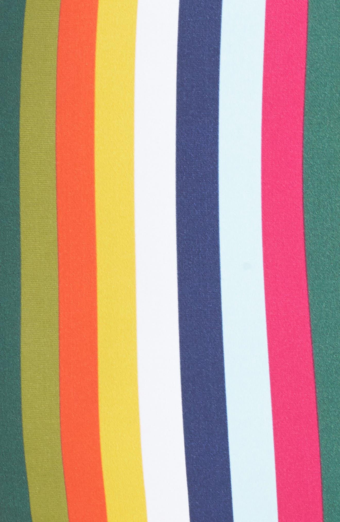 Alternate Image 5  - Tory Burch Stripe One-Piece Swimsuit