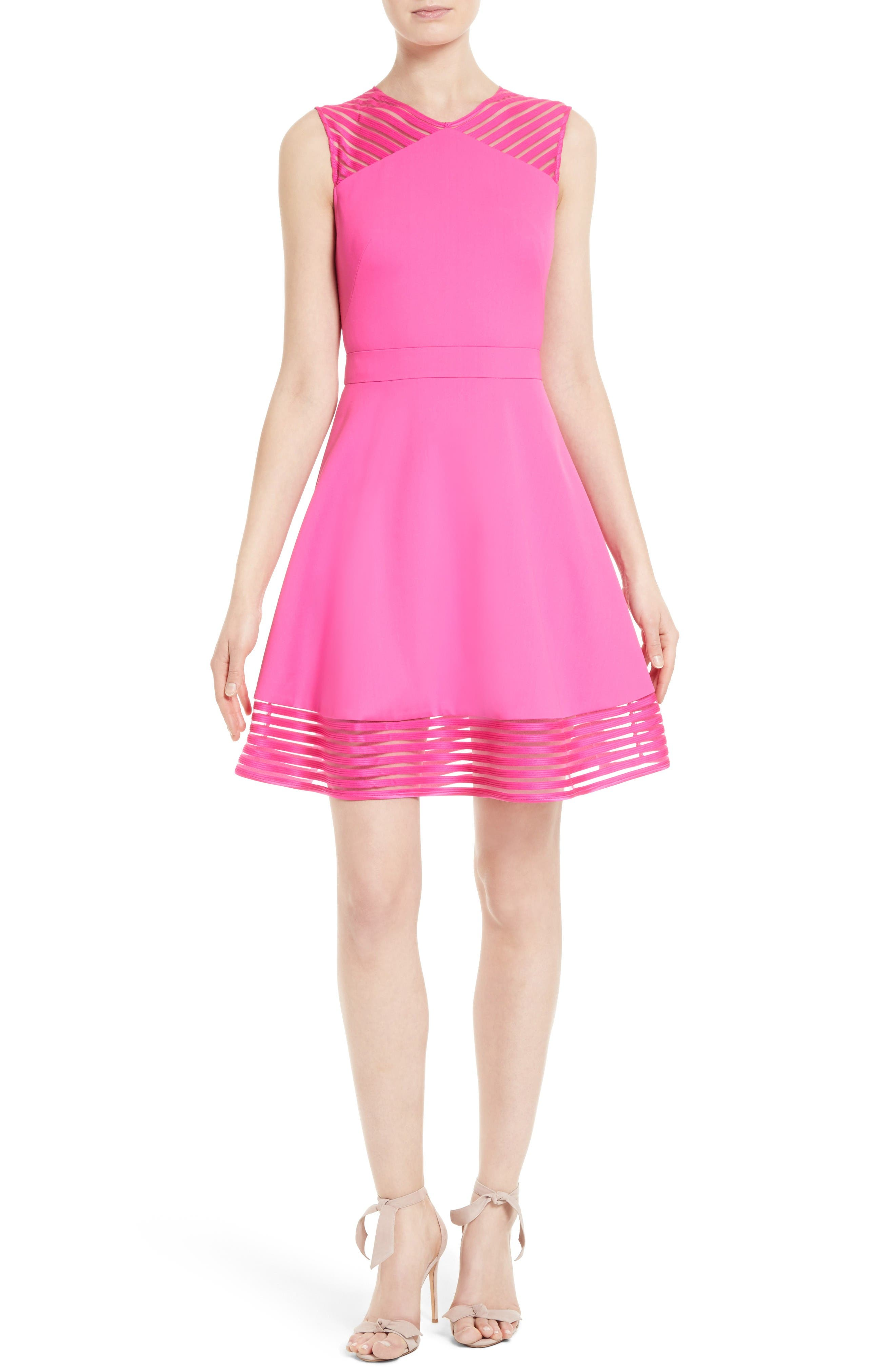 Ted Baker London Eleese Fit & Flare Dress