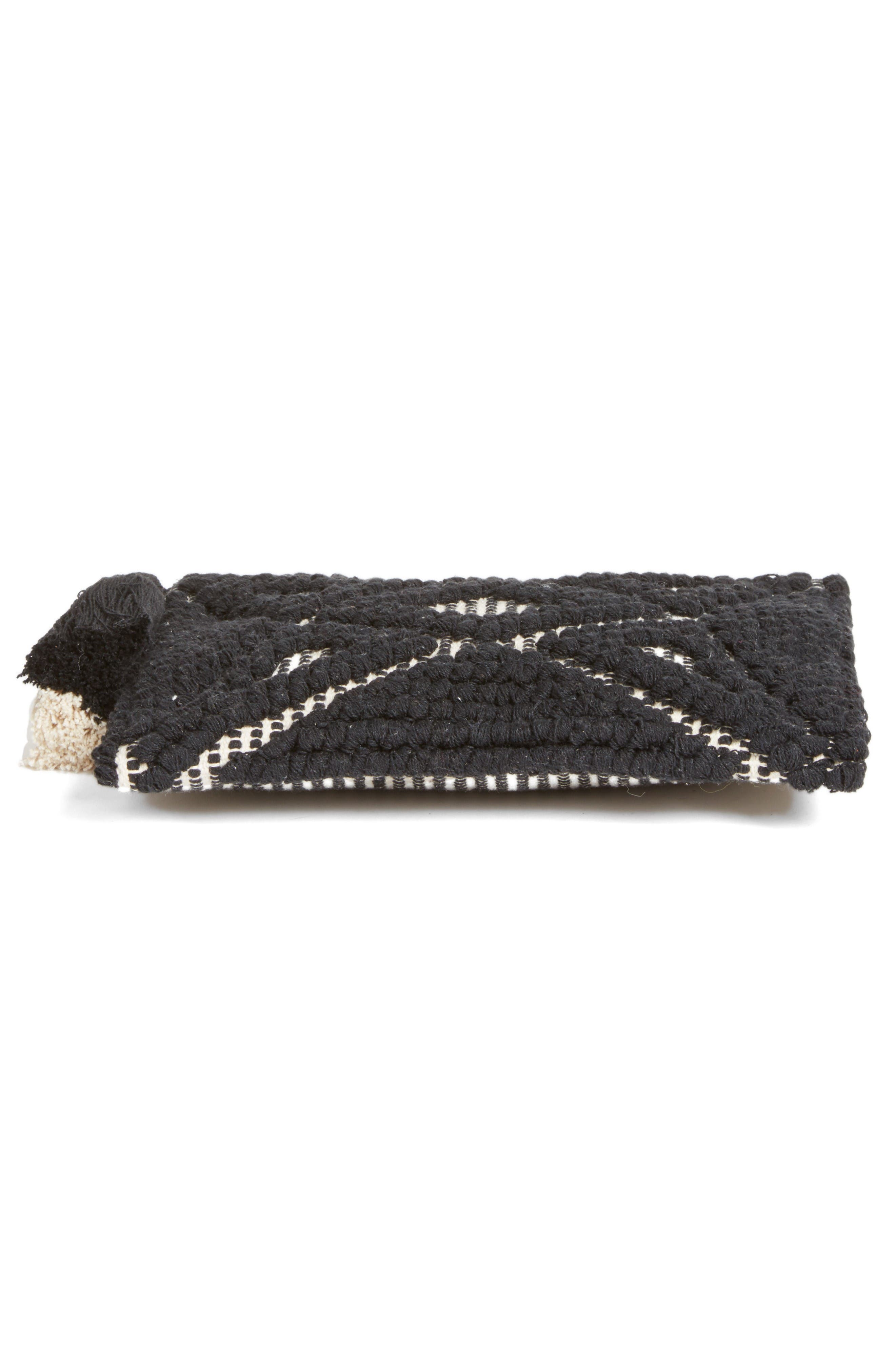 Alternate Image 6  - Sole Society Palisades Tasseled Woven Clutch