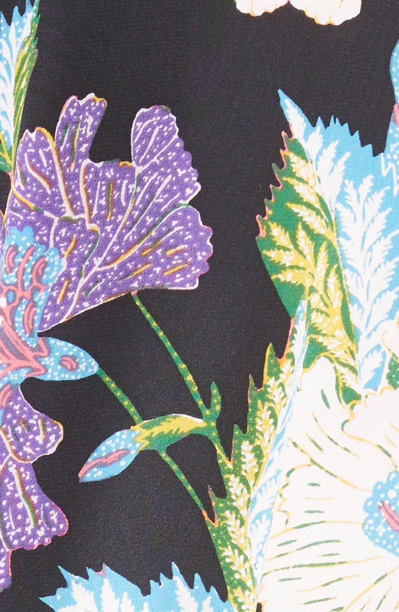 Alternate Image 5  - Diane von Furstenberg Faux Wrap Silk Jumpsuit