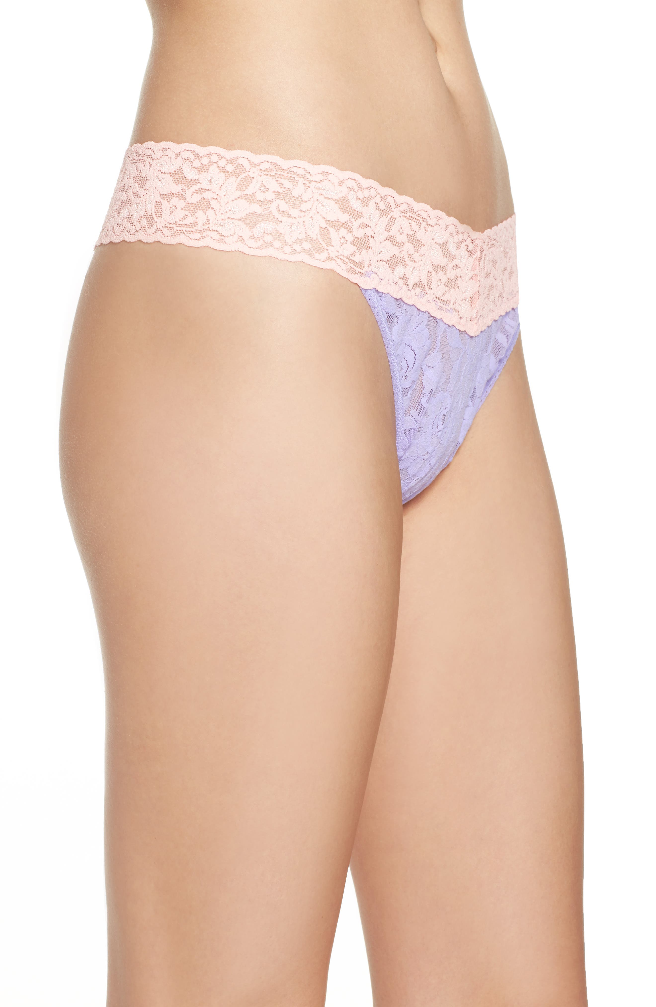 Alternate Image 3  - Hanky Panky 'Colorplay' Regular Rise Thong
