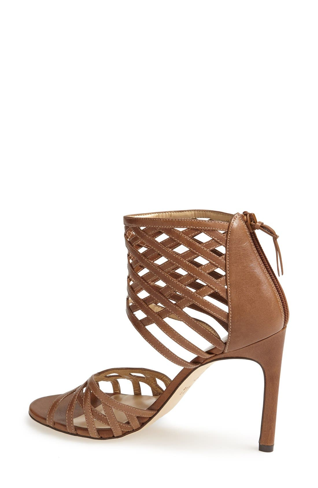 Alternate Image 2  - Stuart Weitzman 'Cajun' Leather Sandal (Women)