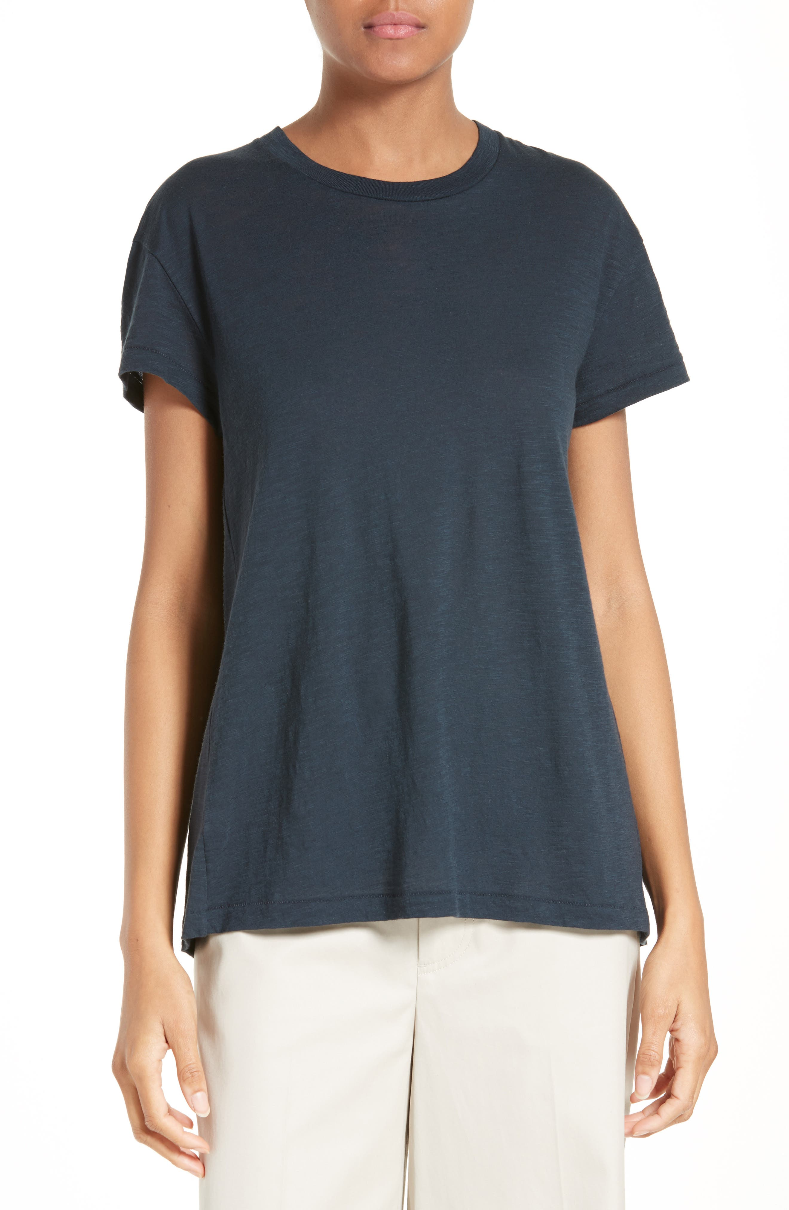 Vince Pima Cotton Swing Tee