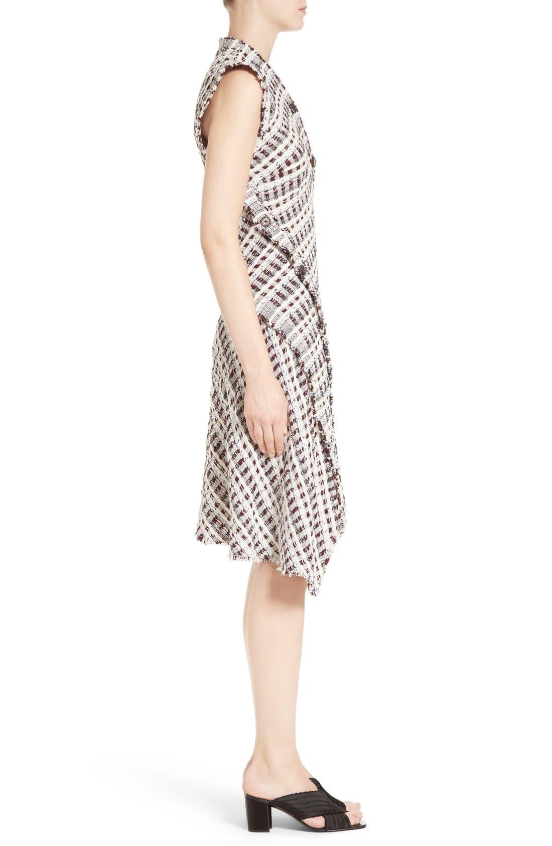 Alternate Image 5  - Proenza Schouler Asymmetrical Tweed Dress