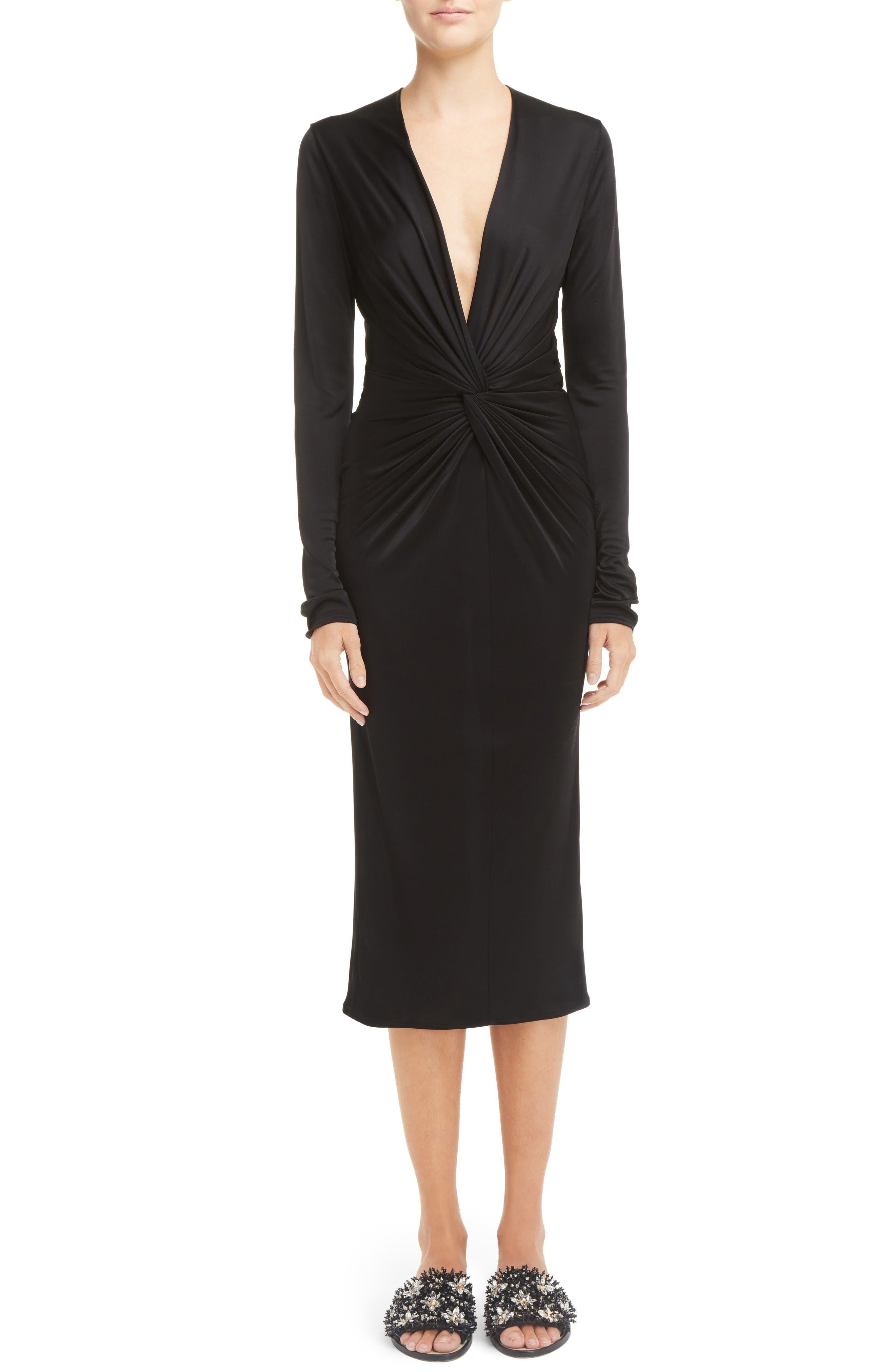Alternate Image 1 Selected - Lanvin Jersey Twist Front Dress
