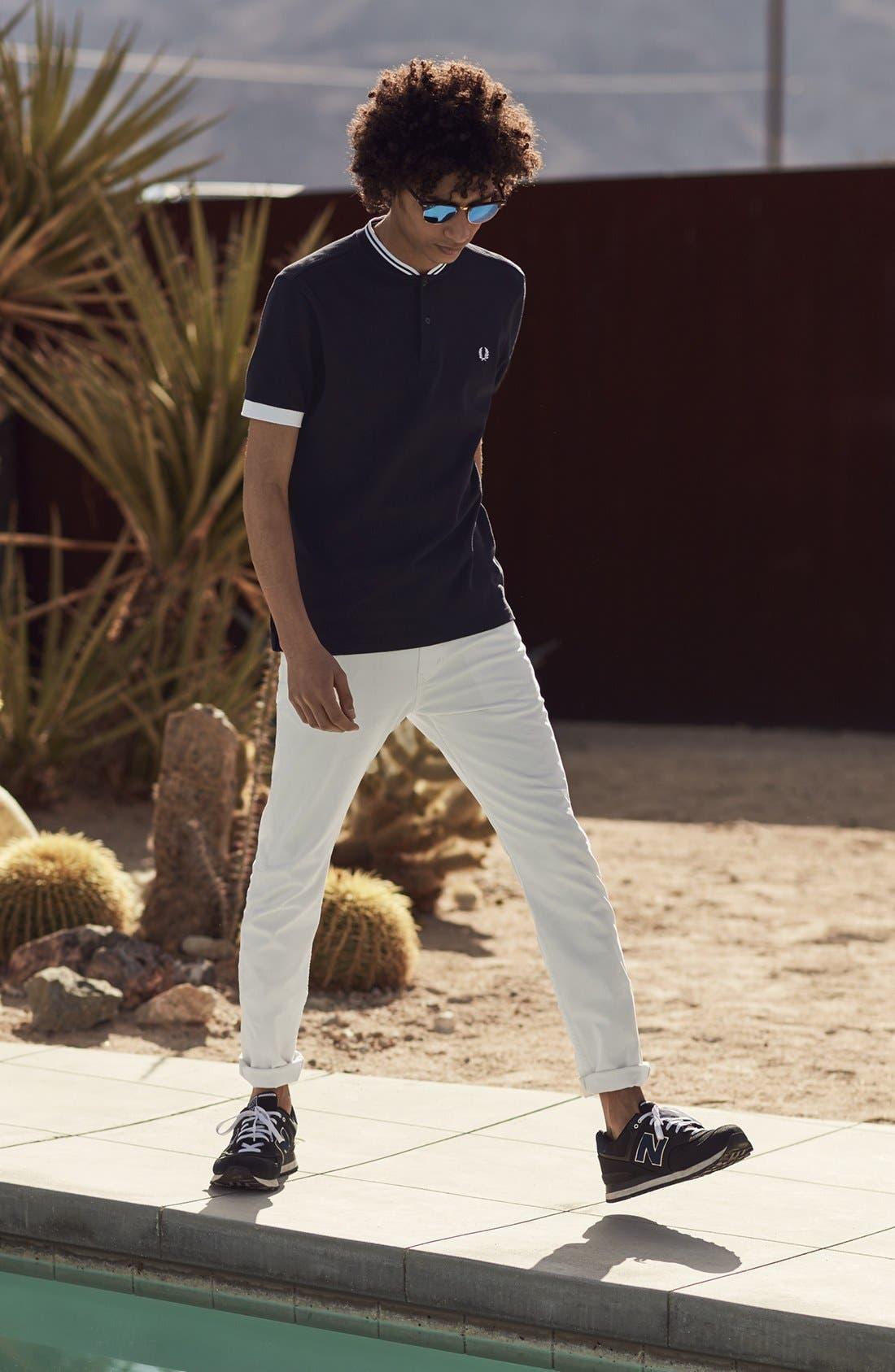 Alternate Image 7  - Levi's® 510® Skinny Fit Jeans (White Bull Denim)