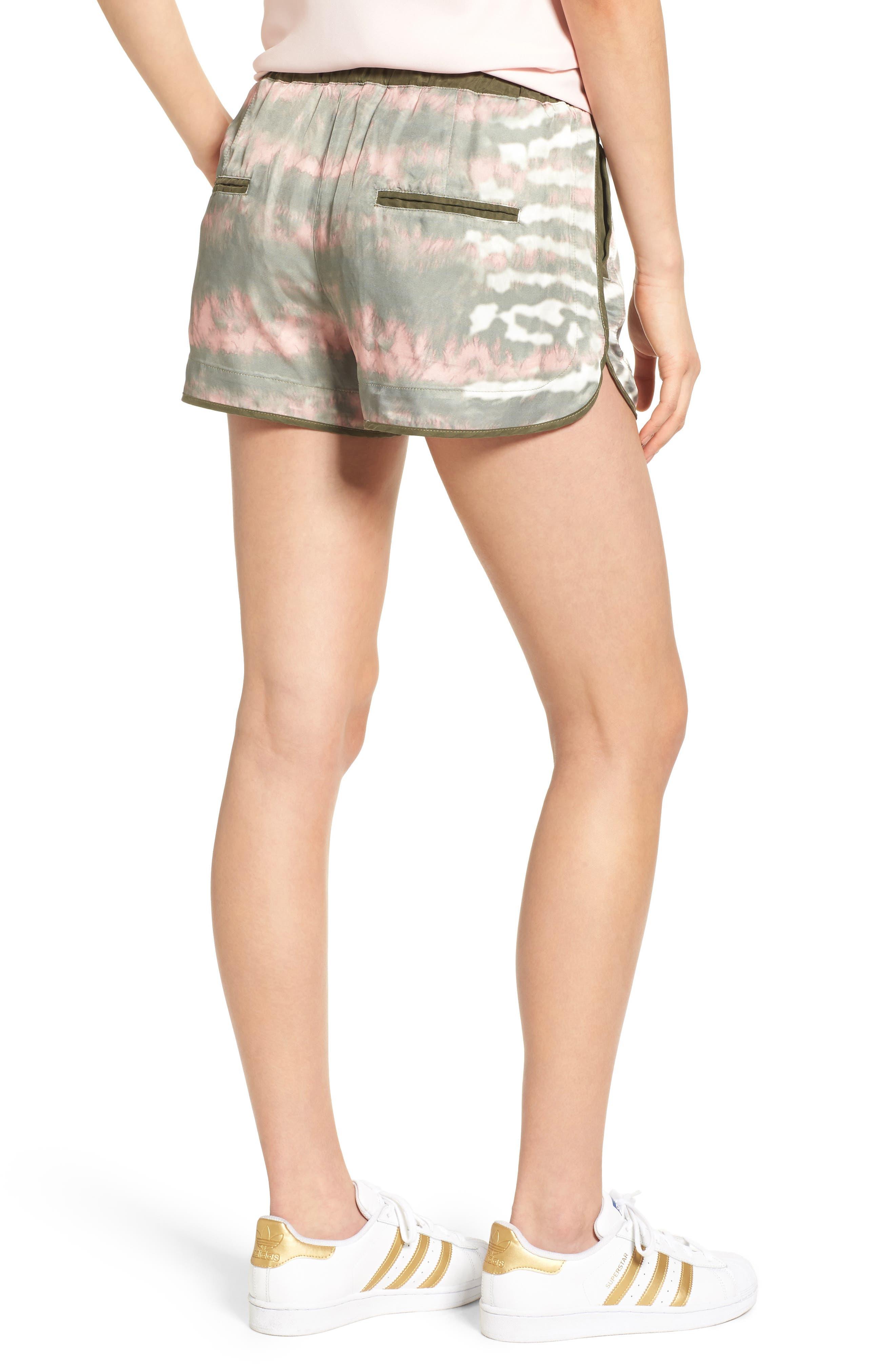 Alternate Image 2  - BLANKNYC Tie Dye Drawstring Shorts