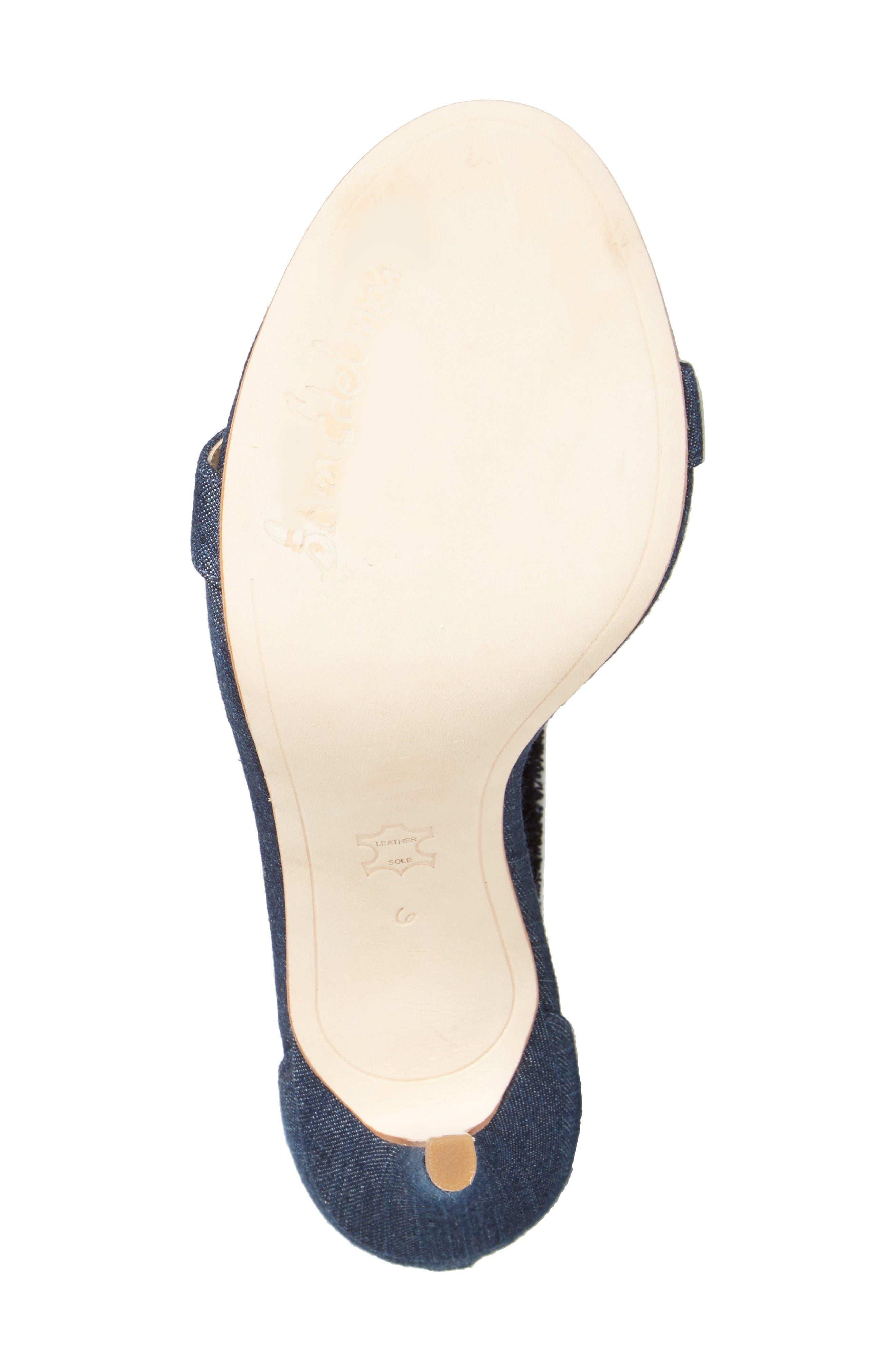 Alternate Image 4  - Sam Edelman Anabeth Ankle Strap Sandal (Women)