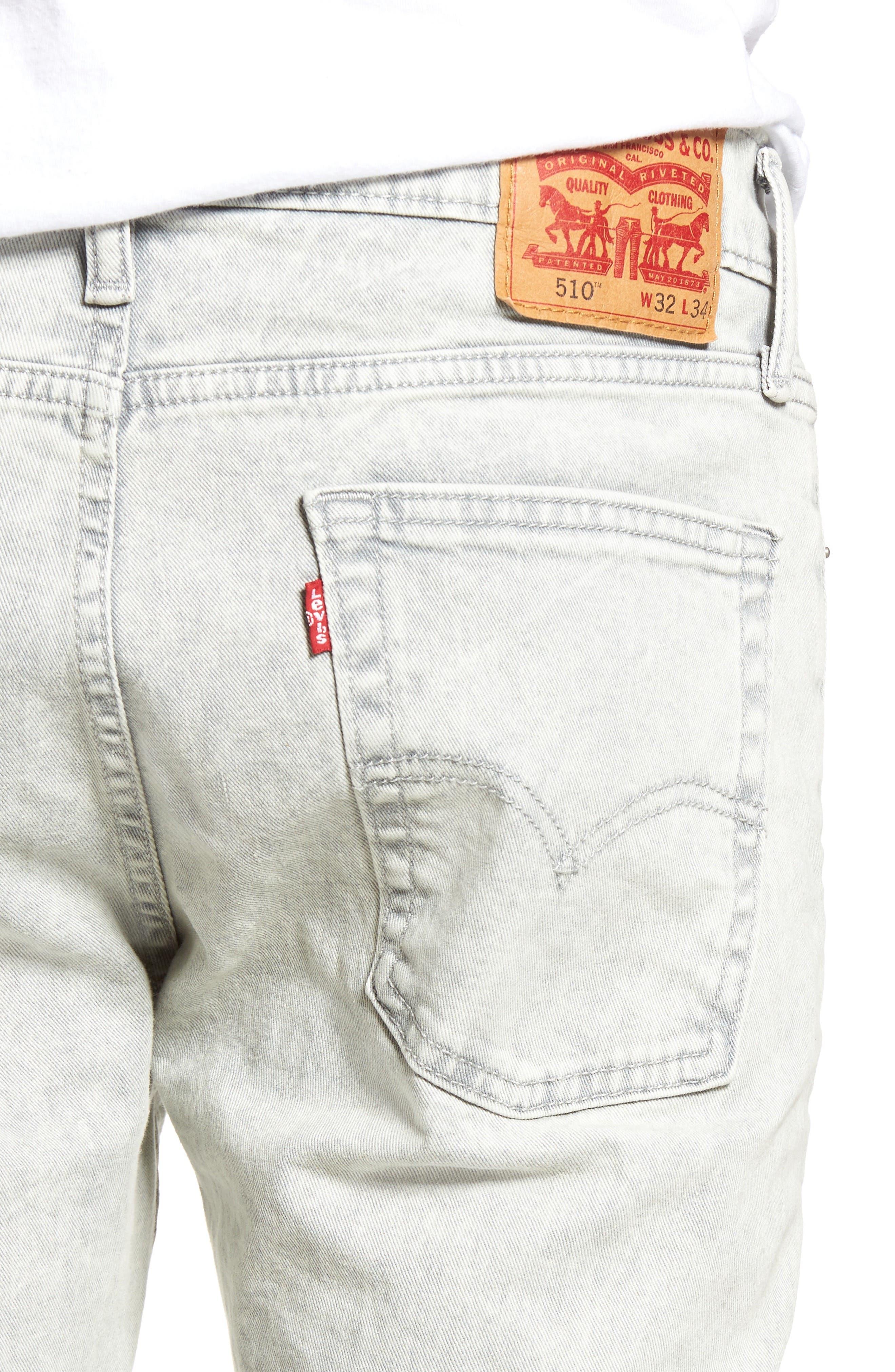 Alternate Image 4  - Levi's® 510™ Skinny Fit Jeans (Gingersnap)