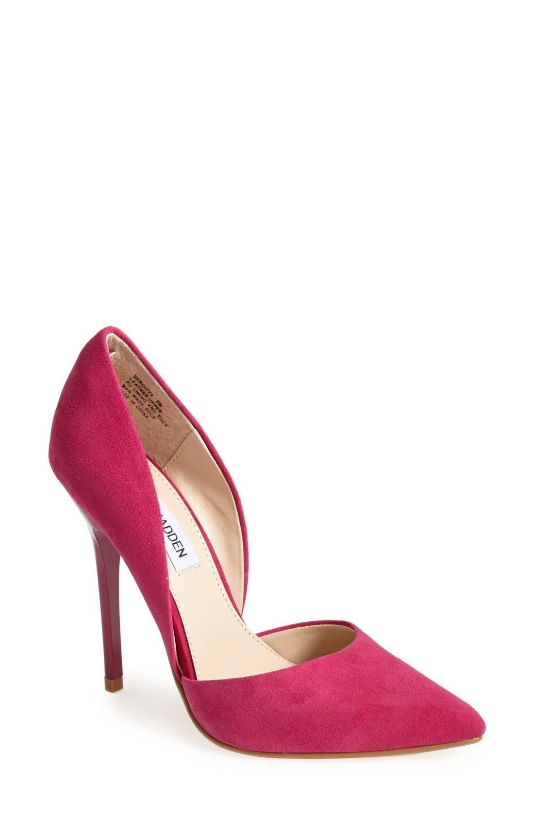 Alternate Image 1 Selected - Steve Madden 'Varcityy' Pointy Toe Pump (Women)