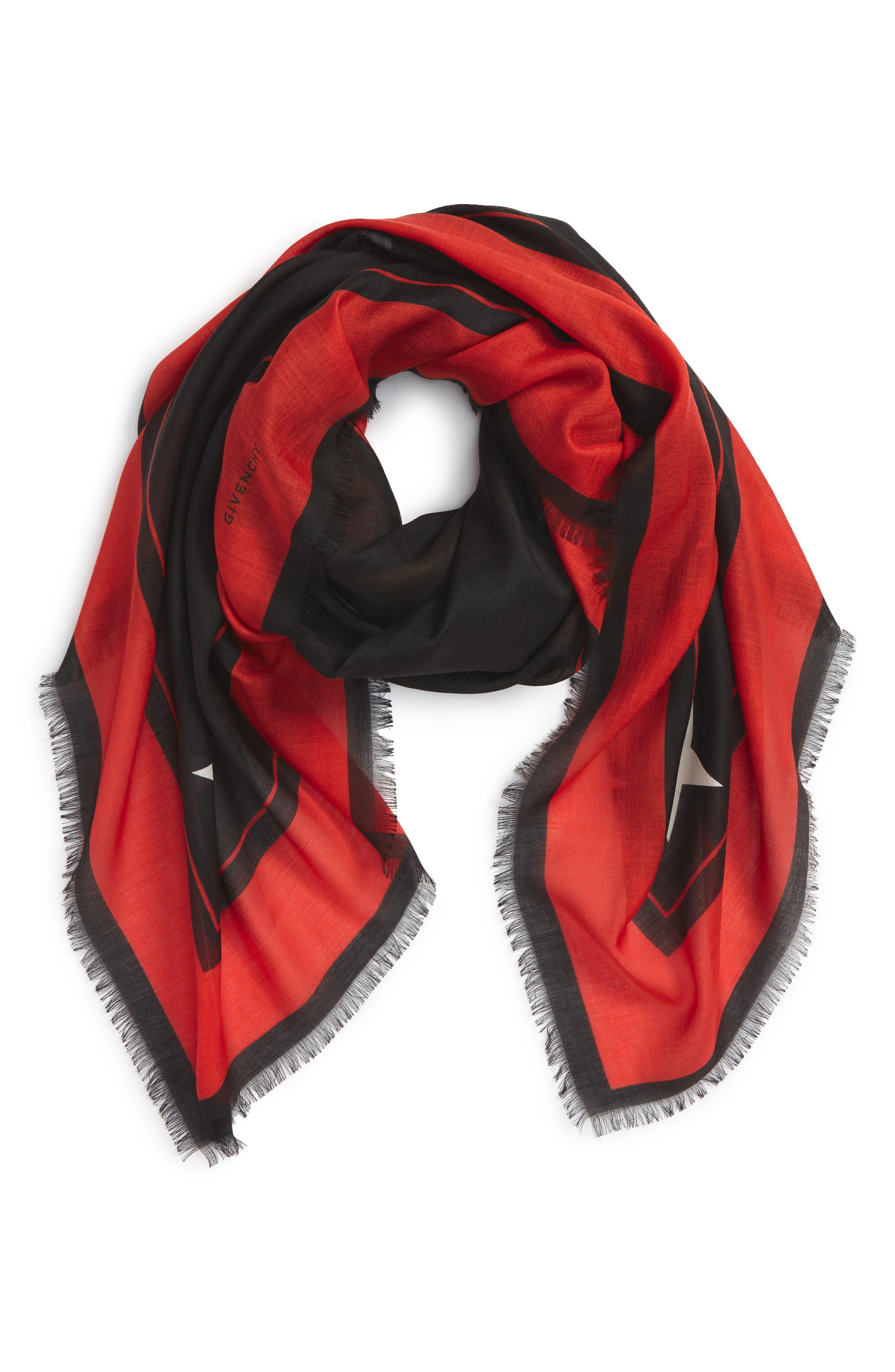Alternate Image 2  - Givenchy 'Rottweiler' Silk Blend Scarf