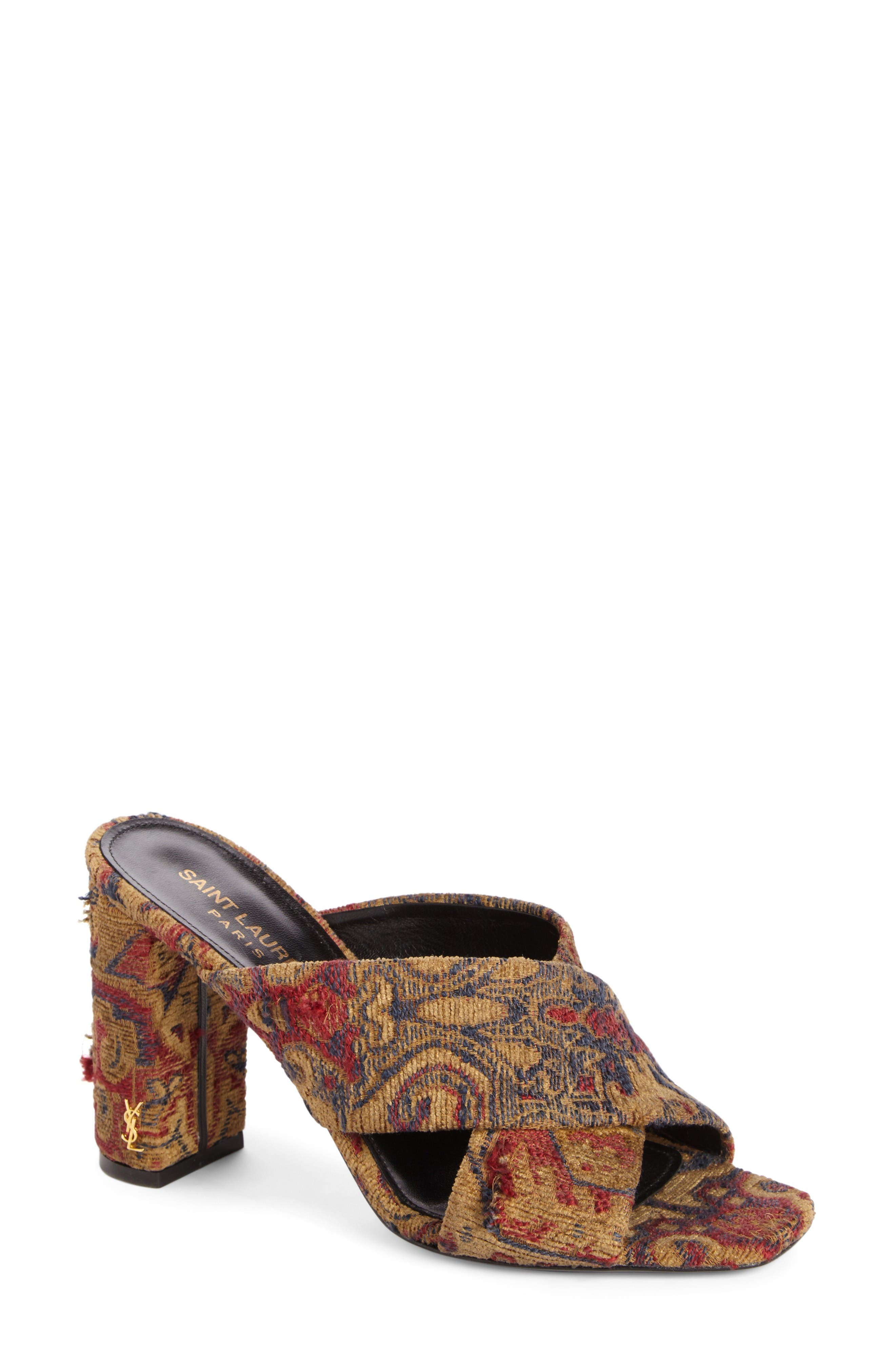 SAINT LAURENT Loulou Slide Sandal