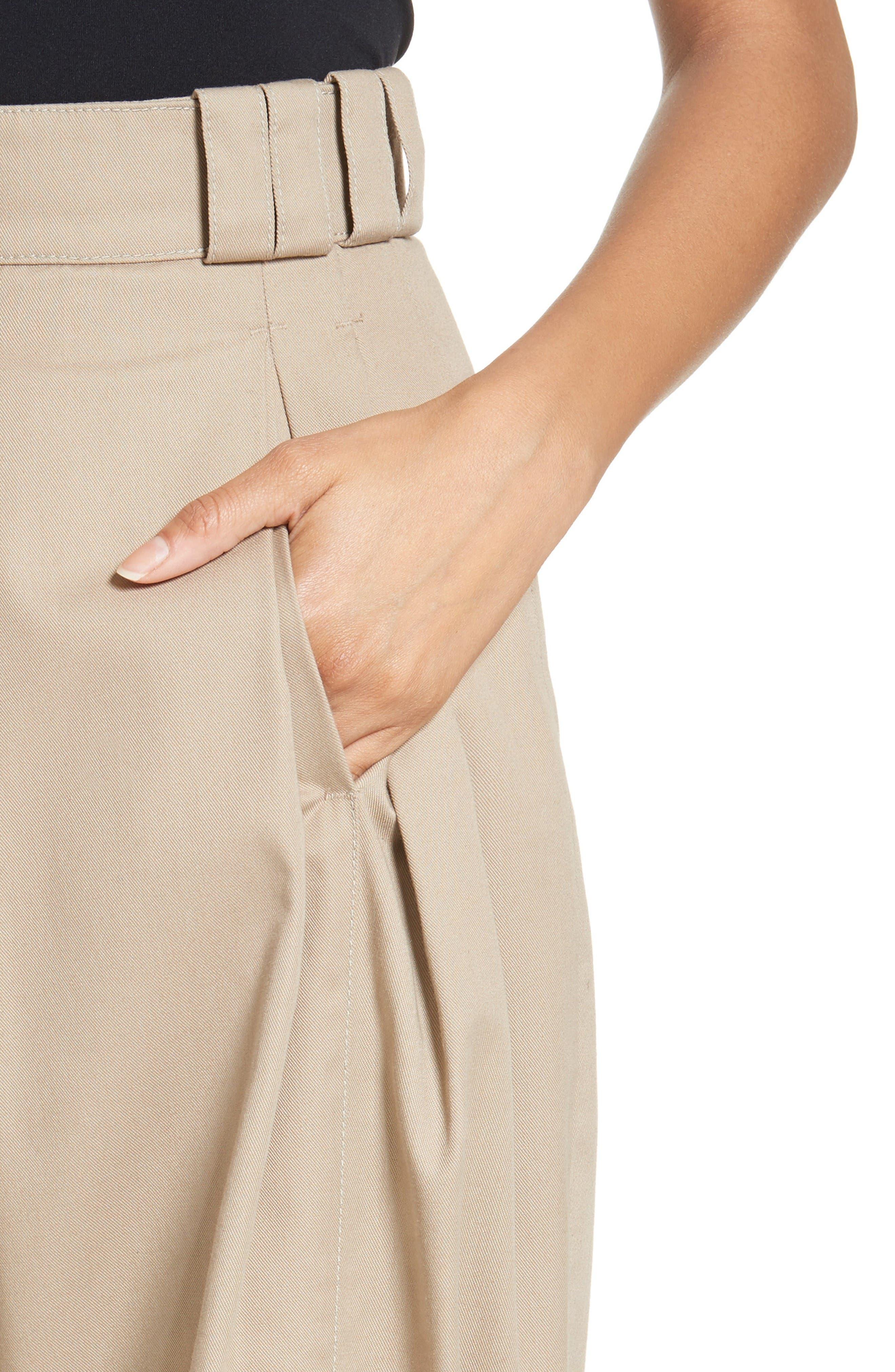 Alternate Image 6  - Alexander Wang High Waist Tech Twill Pants
