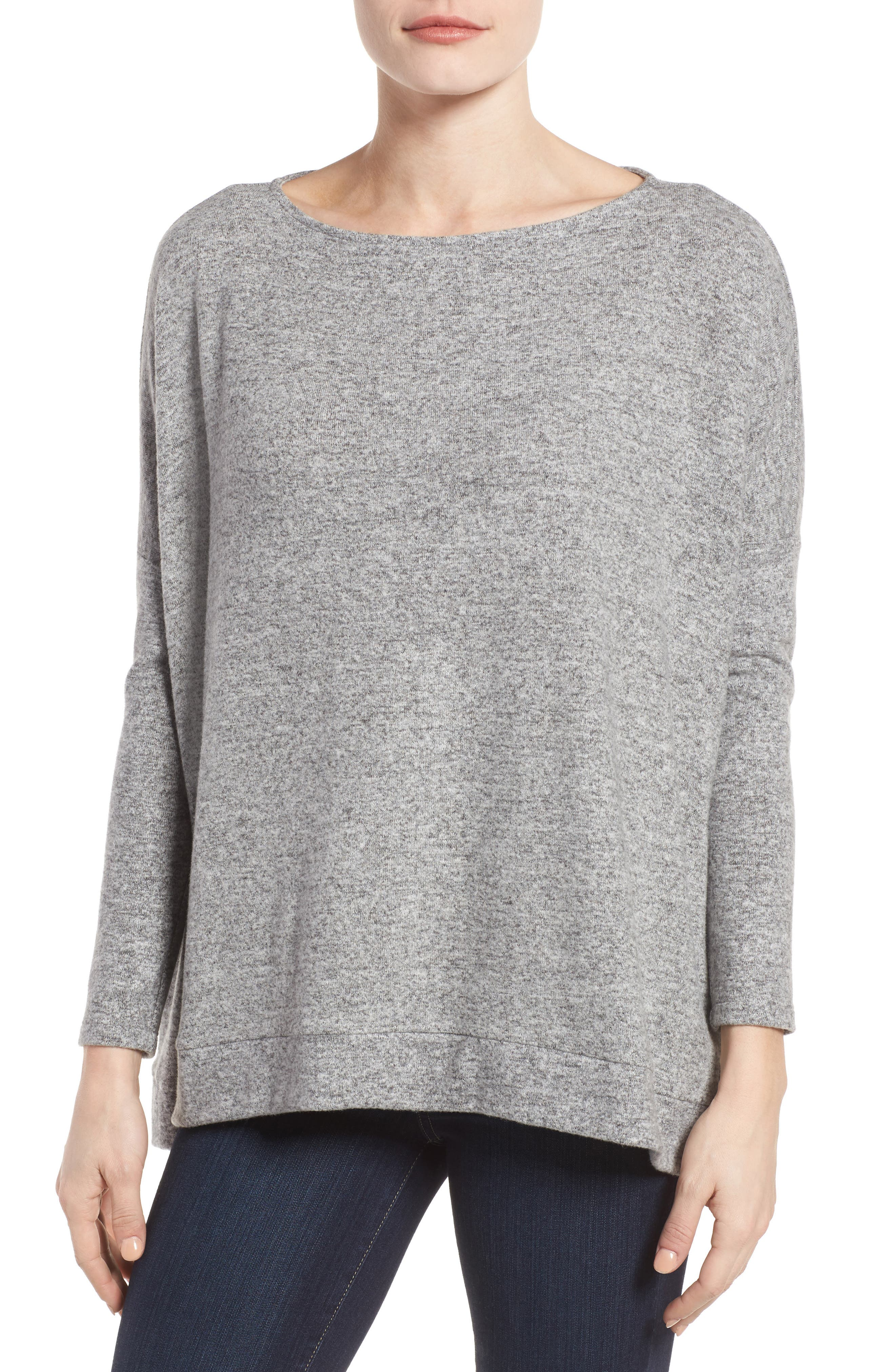Gibson Boxy Fleece Top (Regular & Petite)