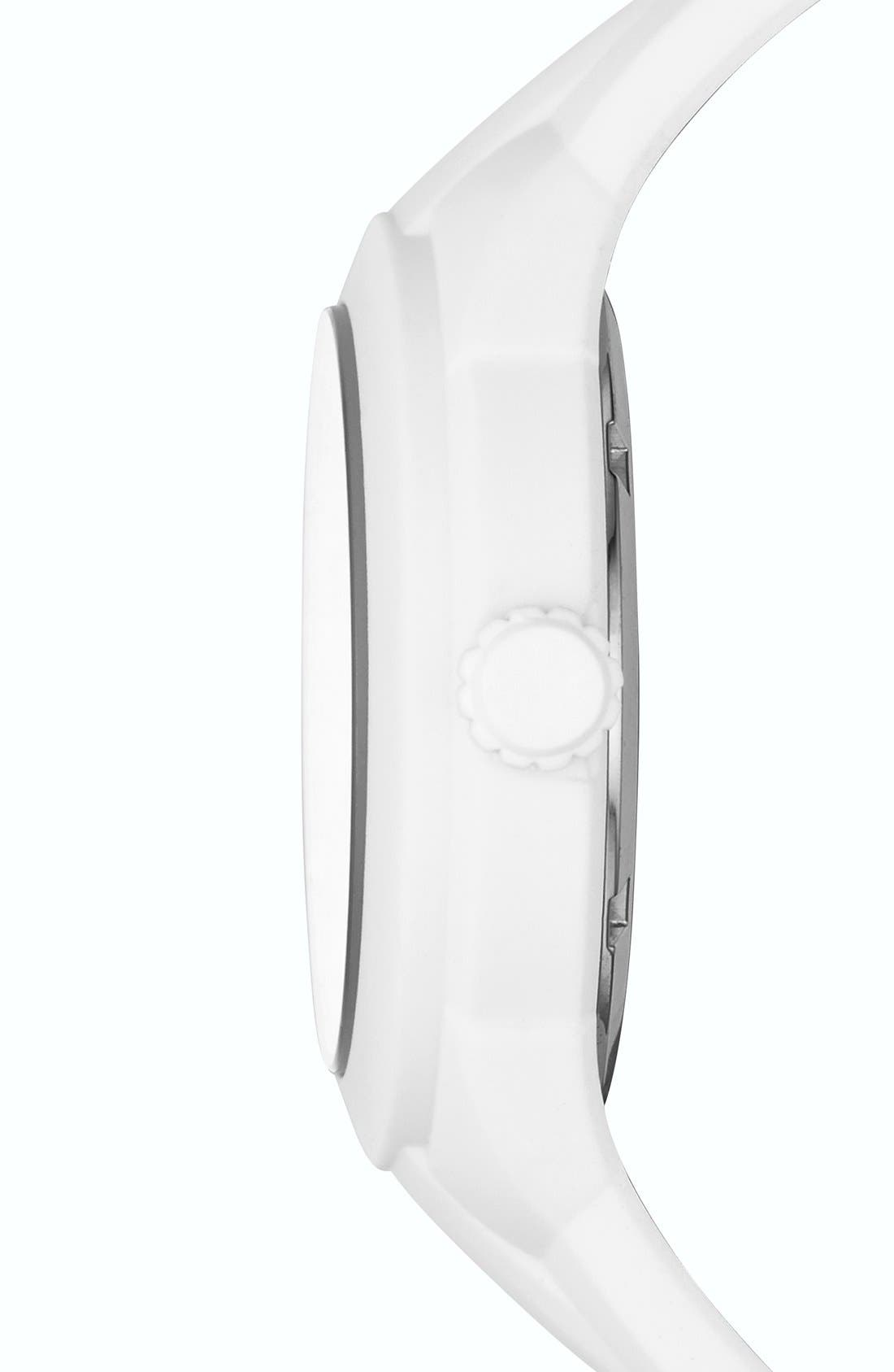 Alternate Image 2  - MARC BY MARC JACOBS 'X-Up' Round Silicone Strap Watch, 38mm