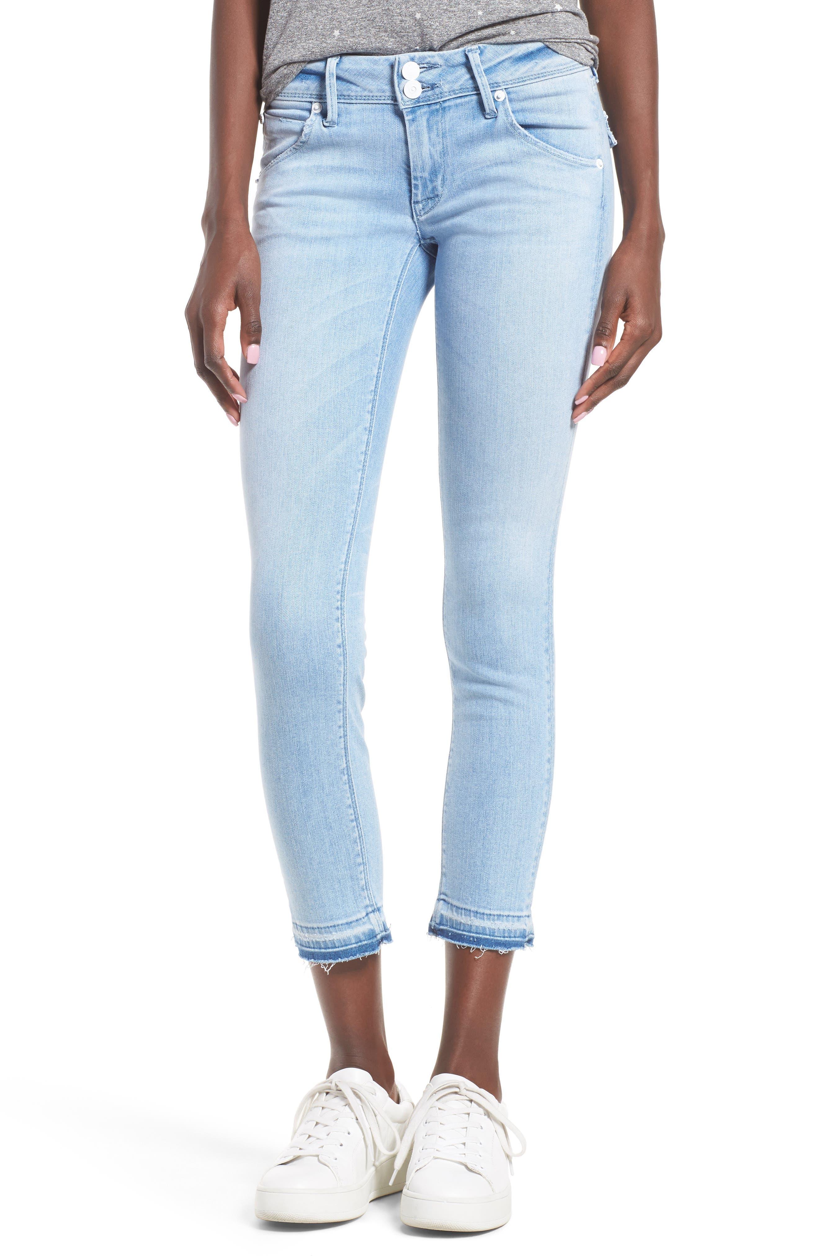 HUDSON JEANS Collin Crop Skinny Jeans