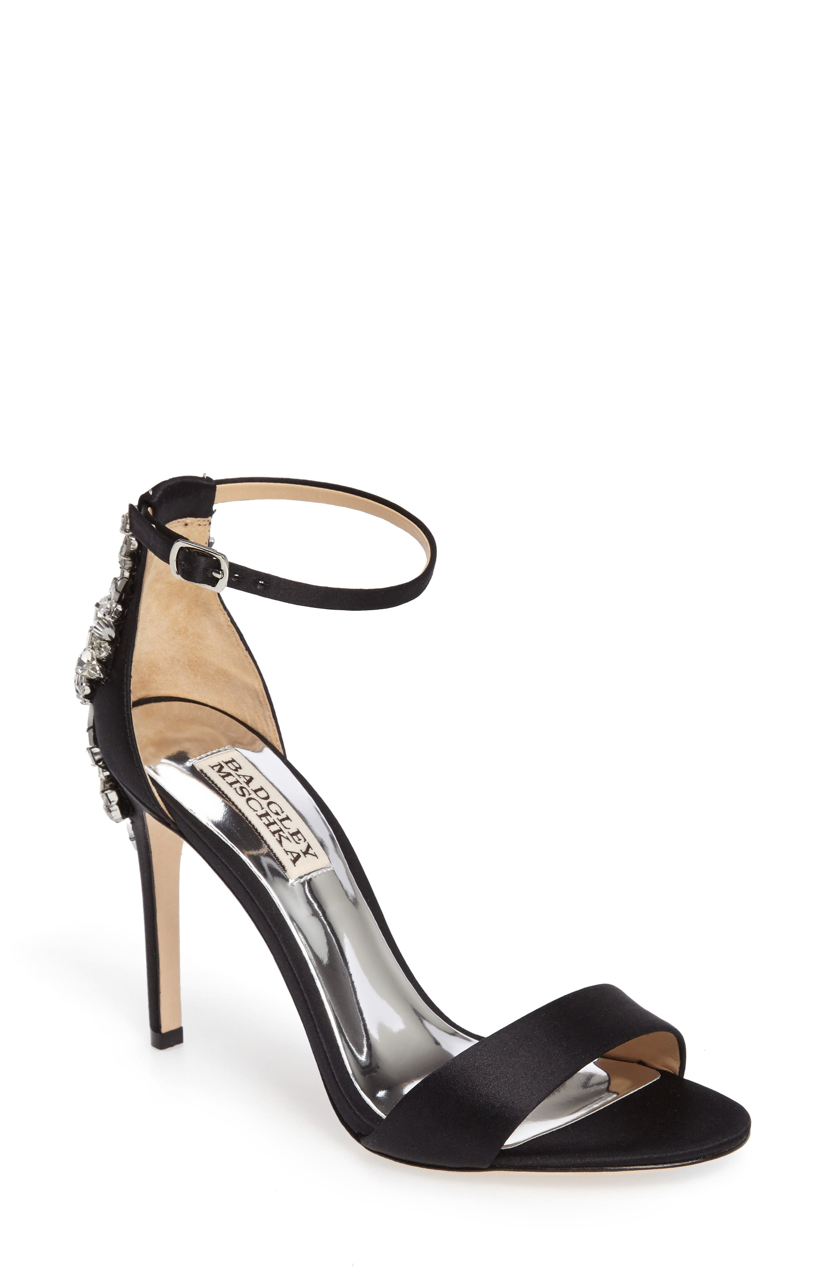 Badgley Mischka Bartley Ankle Strap Sandal (Women)