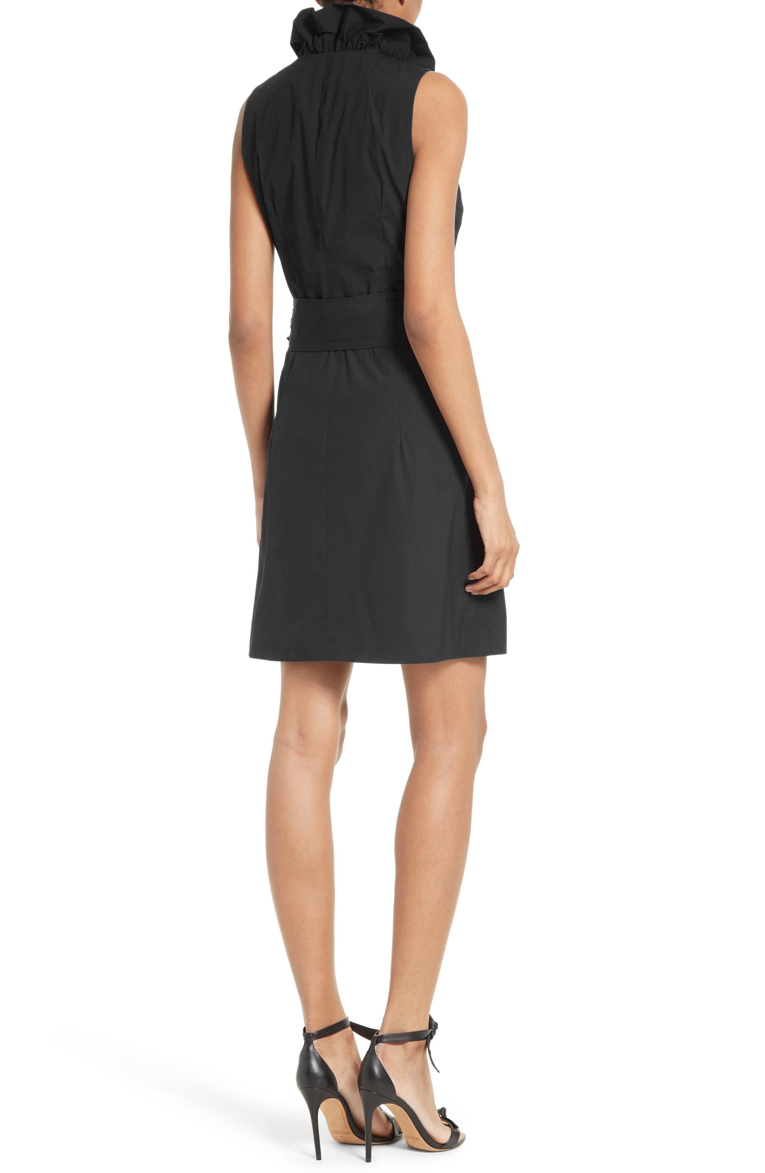 Alternate Image 2  - Milly Ruffle Wrap Dress