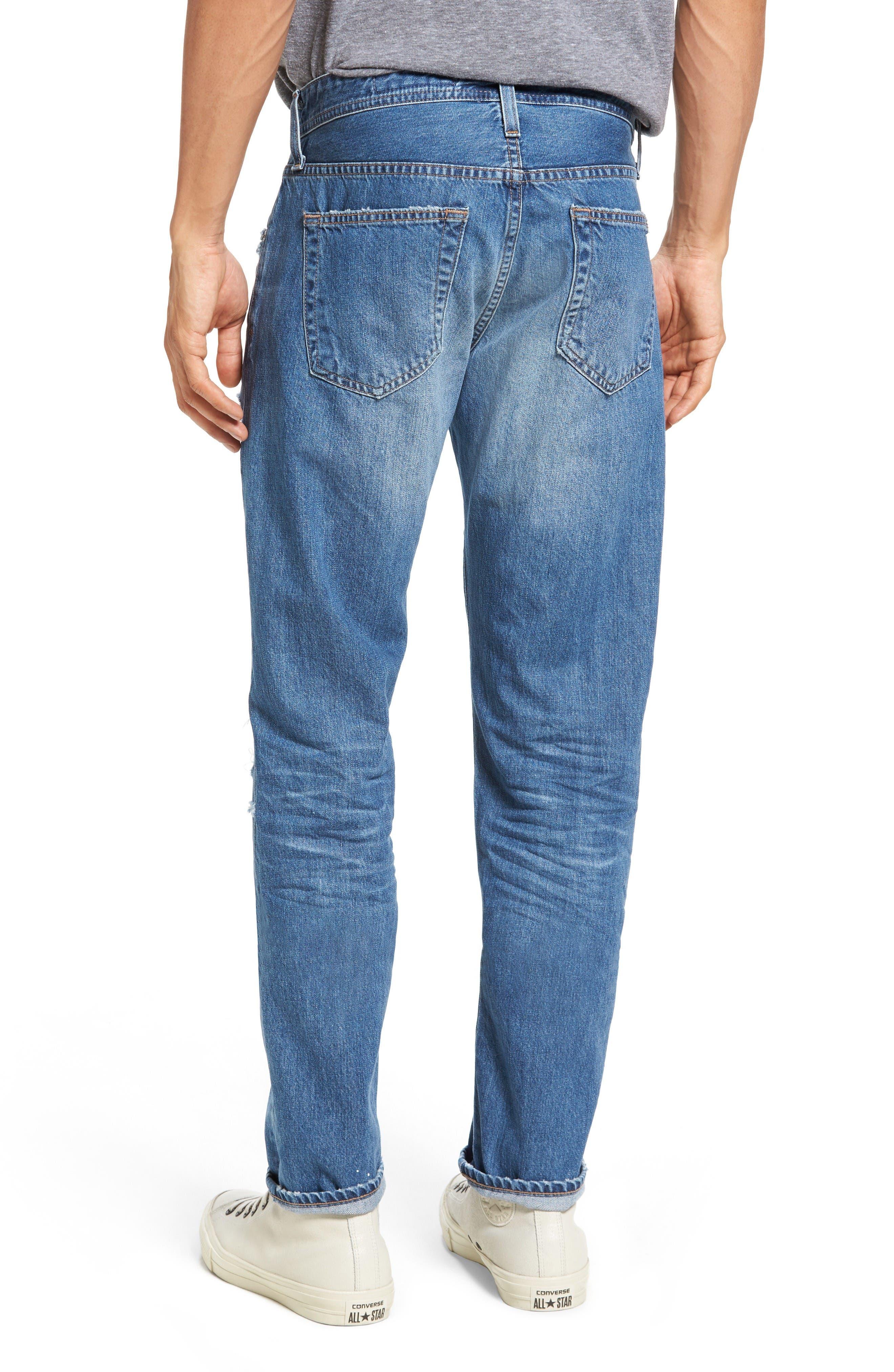 Alternate Image 2  - AG Tellis Slim Fit Jeans (22 Years Melville)