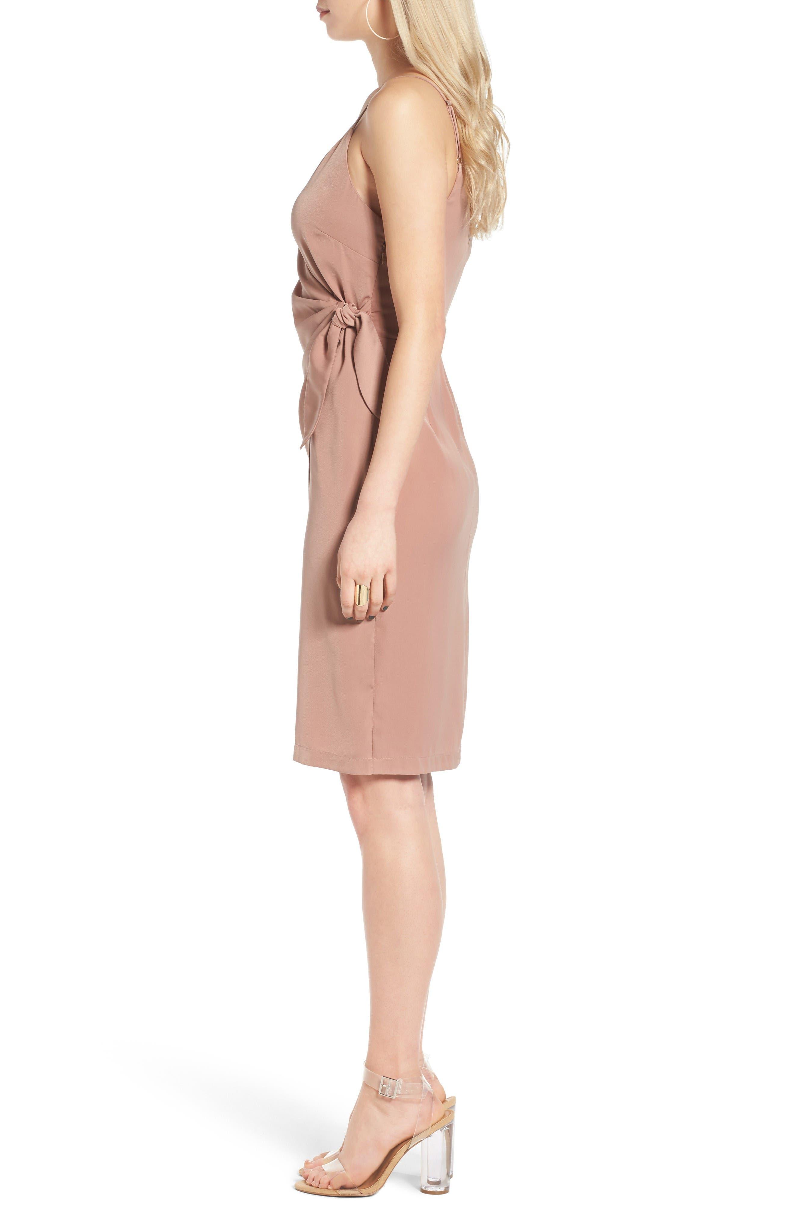 Alternate Image 3  - Leith Satin Wrap Dress