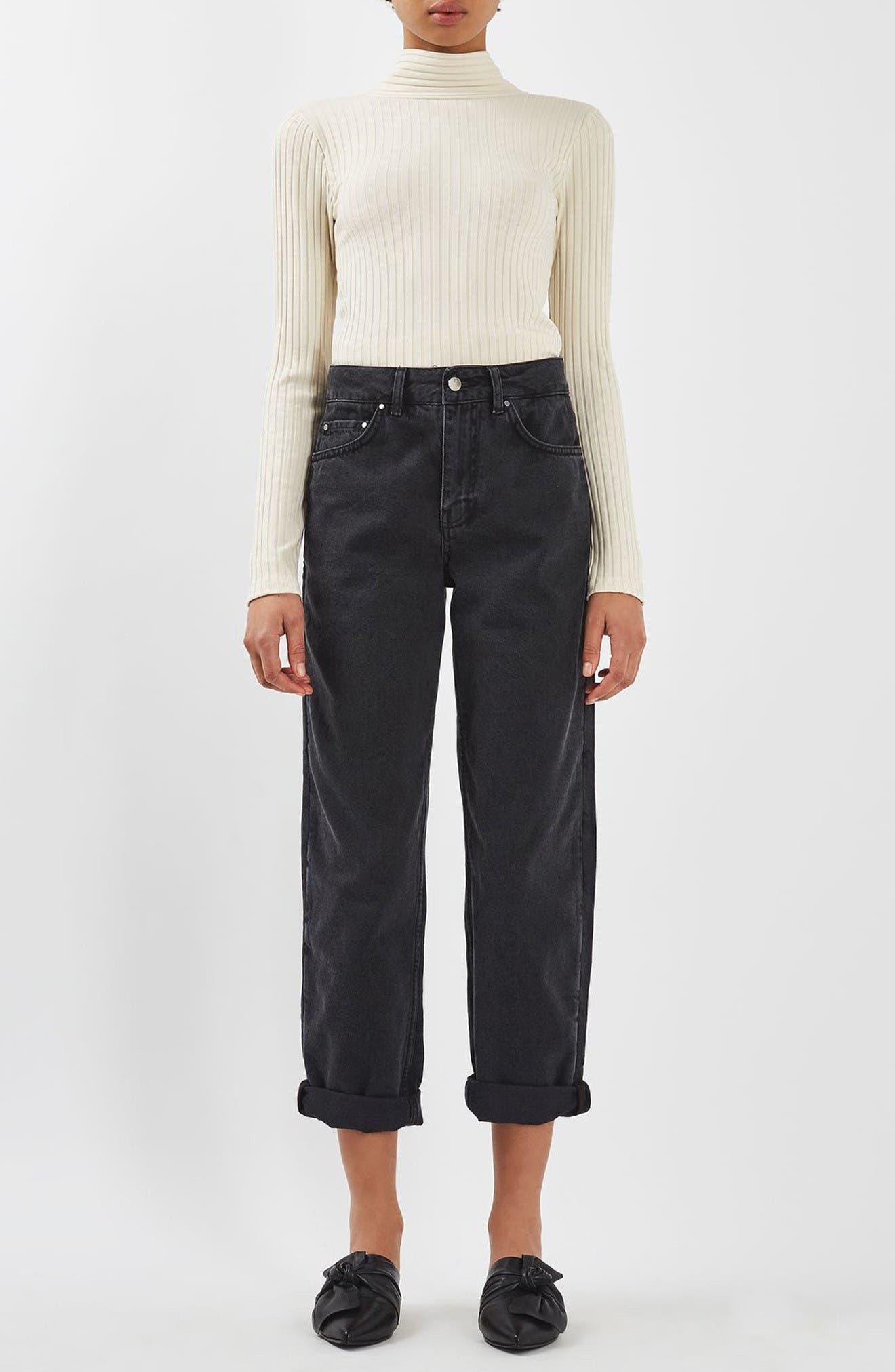 Alternate Image 2  - Topshop Boutique Tie Back Sweater