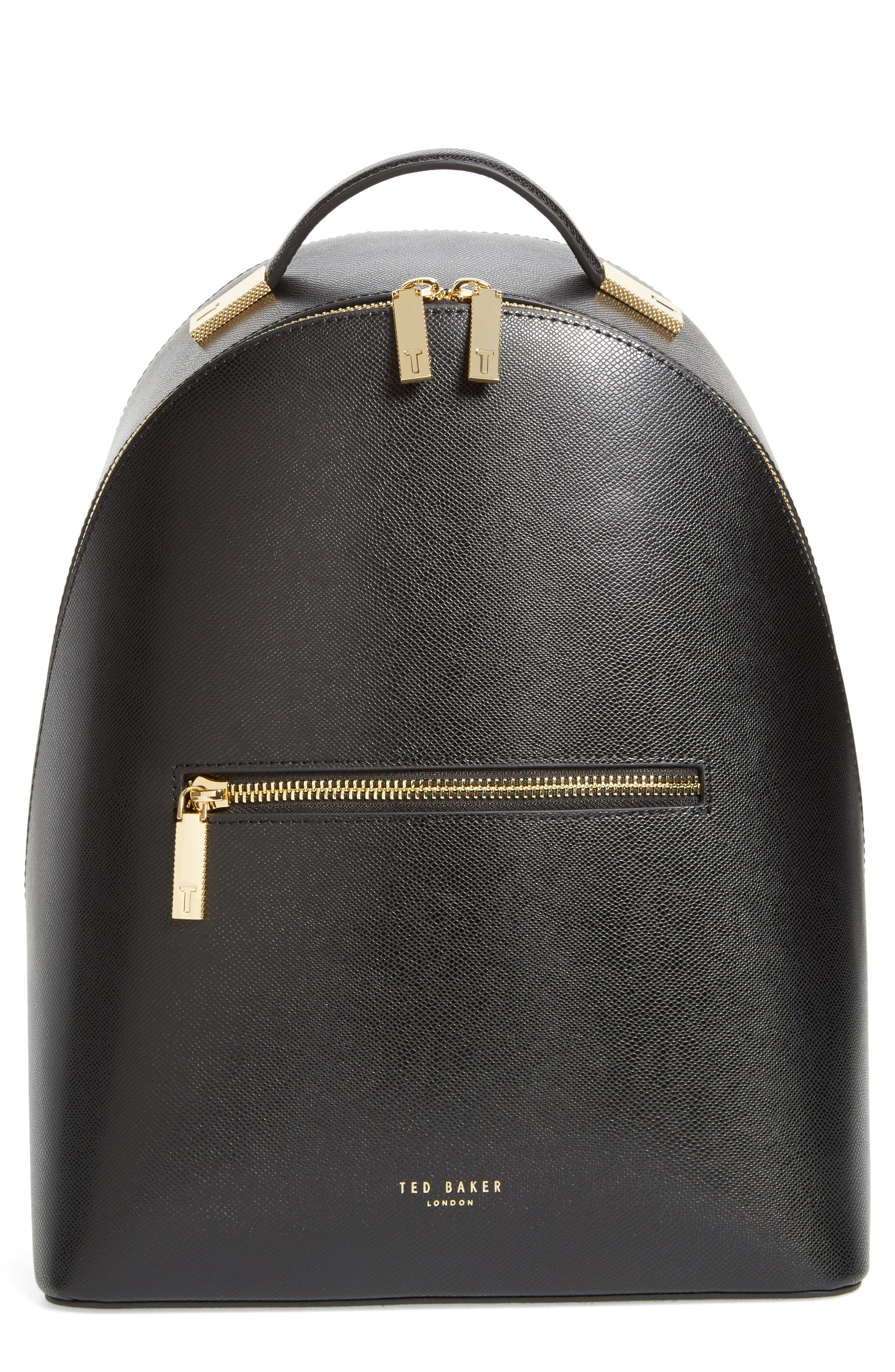Alternate Image 1 Selected - Ted Baker London Mini Jarvis Leather Backpack