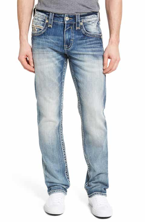 Rock Revival Alternative Straight Leg Jeans (Regular   Big)