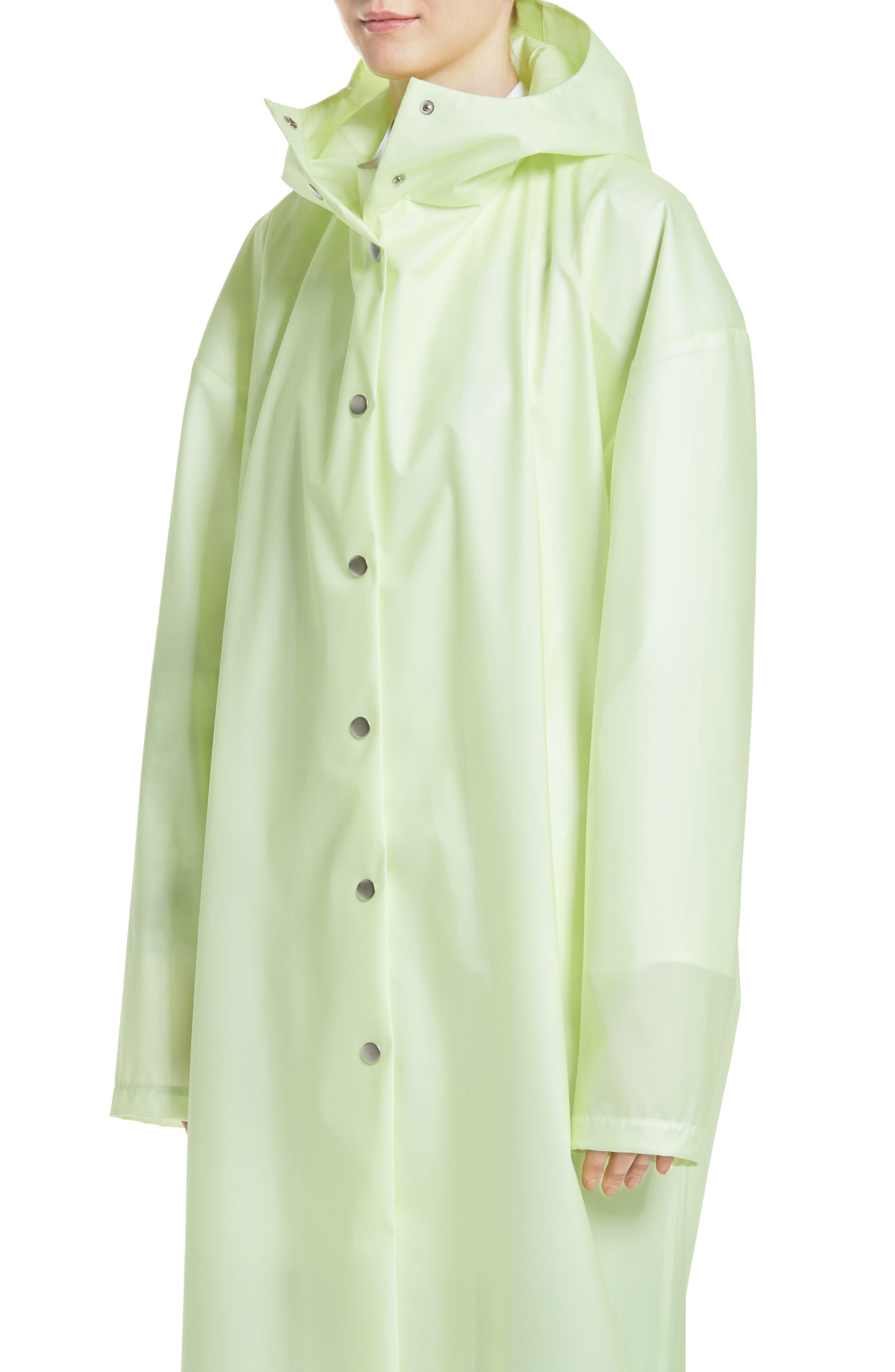 Alternate Image 6  - A.W.A.K.E. Oversize Waterproof Hooded Coat