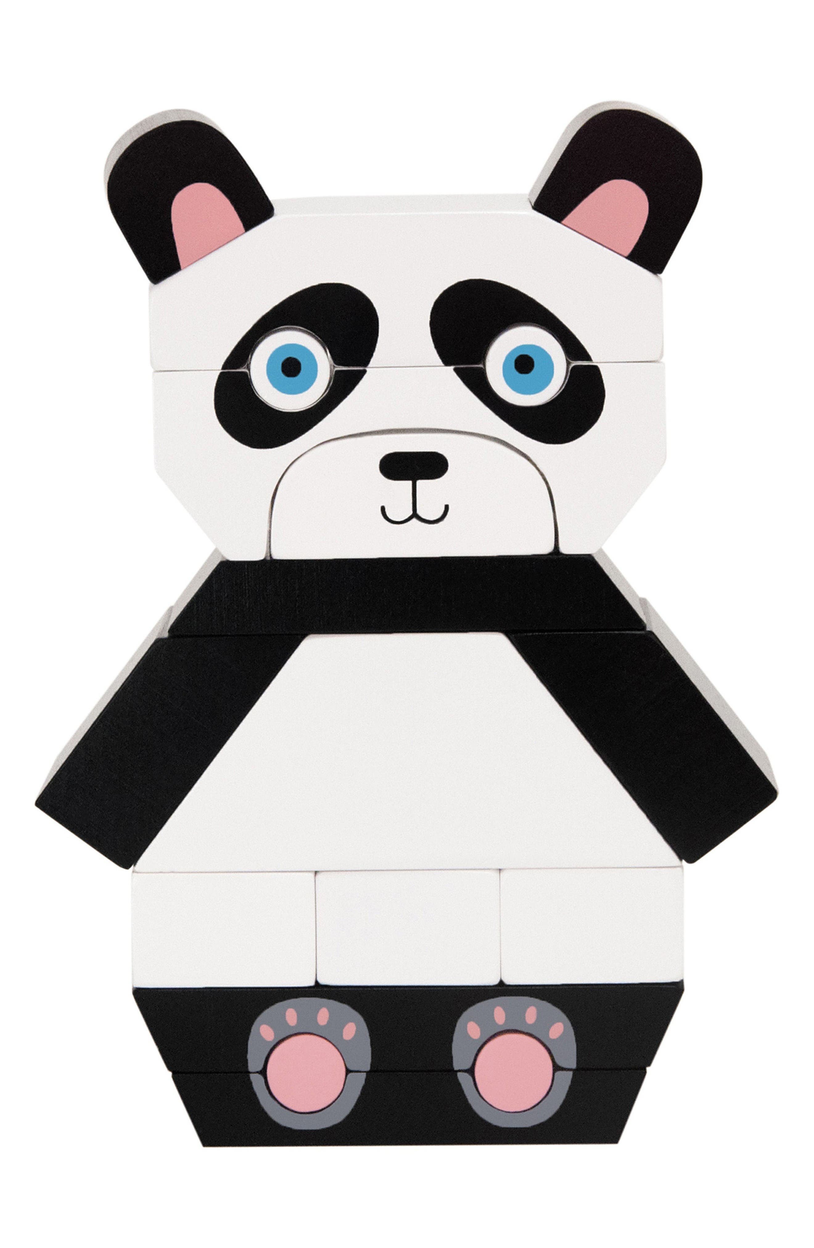 Manhattan Toy Patches the Panda Magnetized Blocks