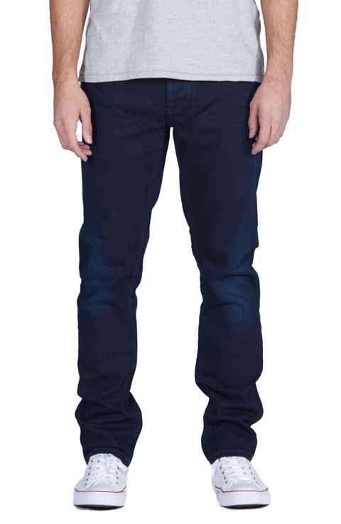 Nudie Jeans Grim Tim Slim Fit Jeans (Dark Shield)