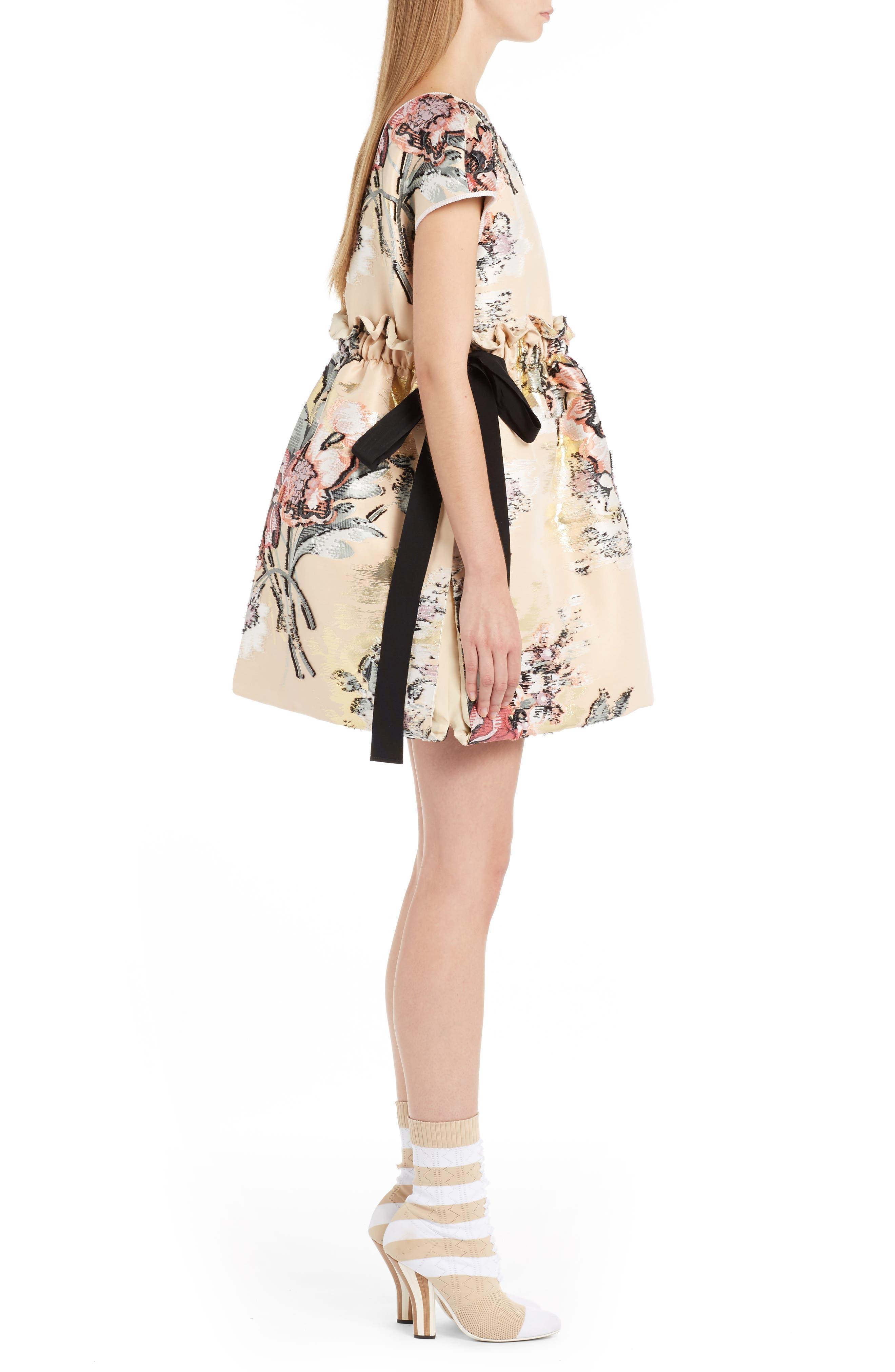 Alternate Image 4  - Fendi Fil Coupé Floral Brocade Dress