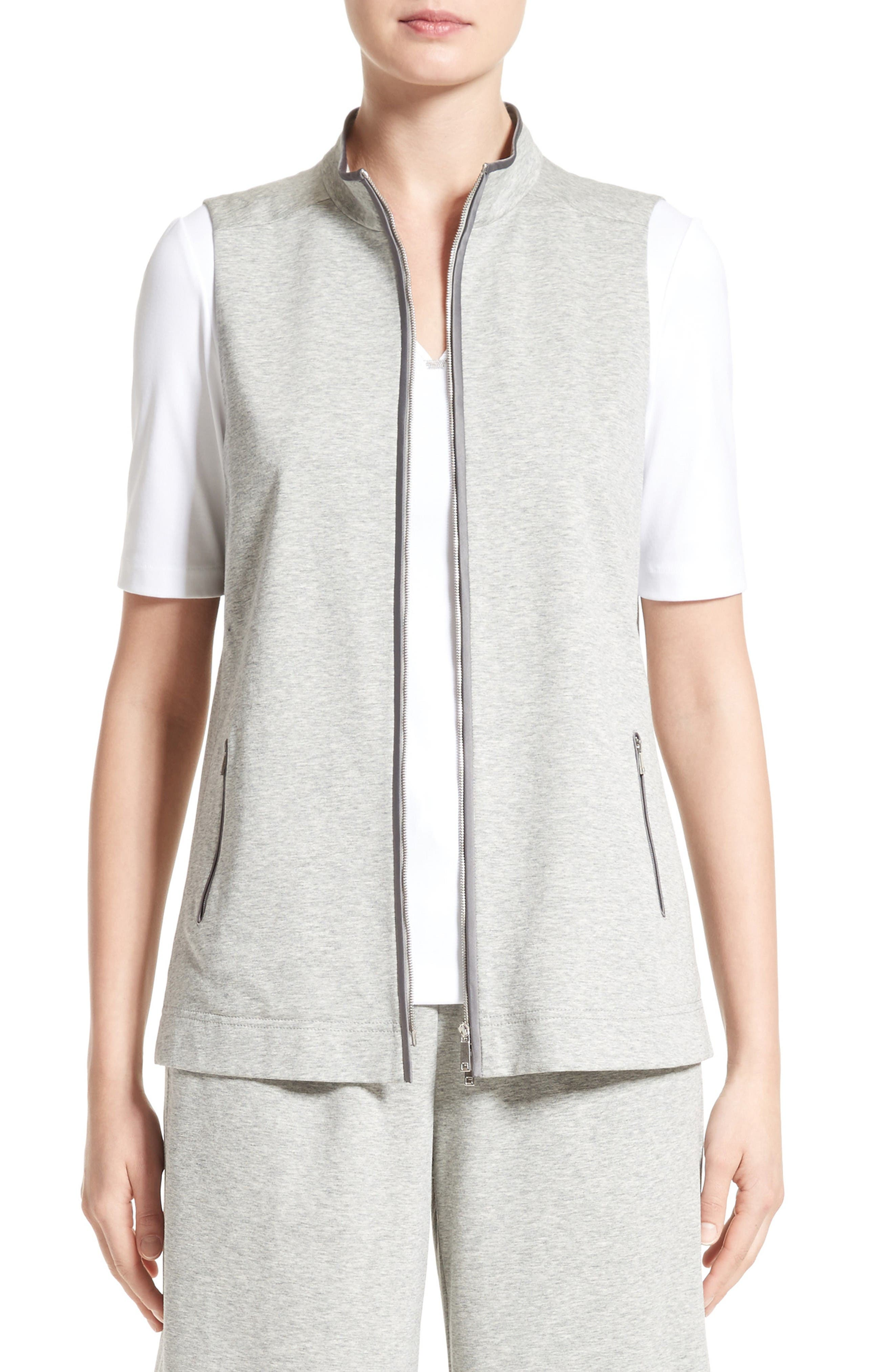 Lafayette 148 New York Cotton Vest
