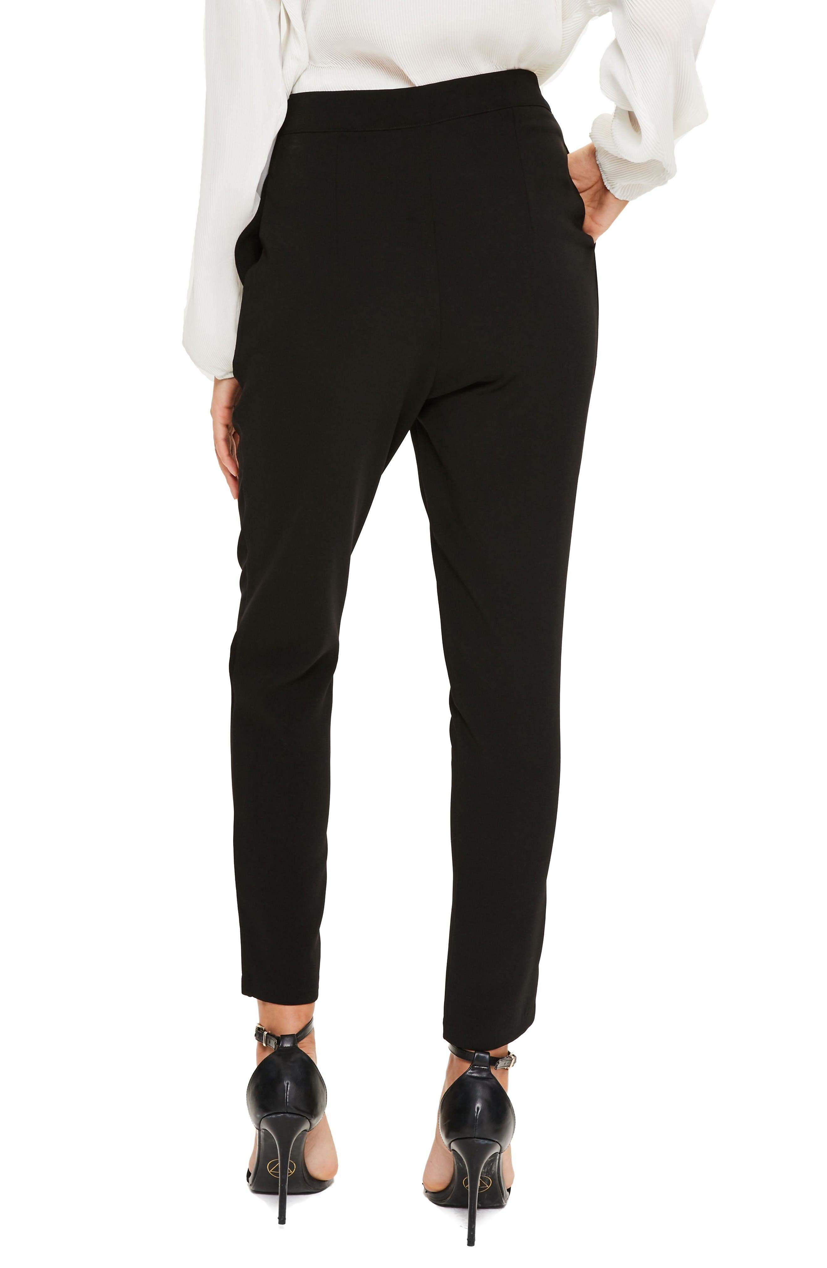 Alternate Image 2  - Missguided High Waist Cigarette Trousers