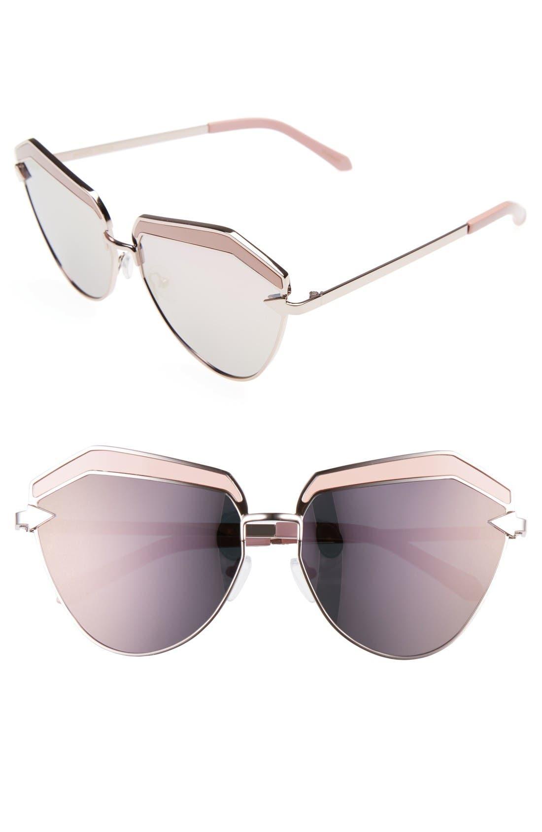 KAREN WALKER Jacinto 61mm Sunglasses