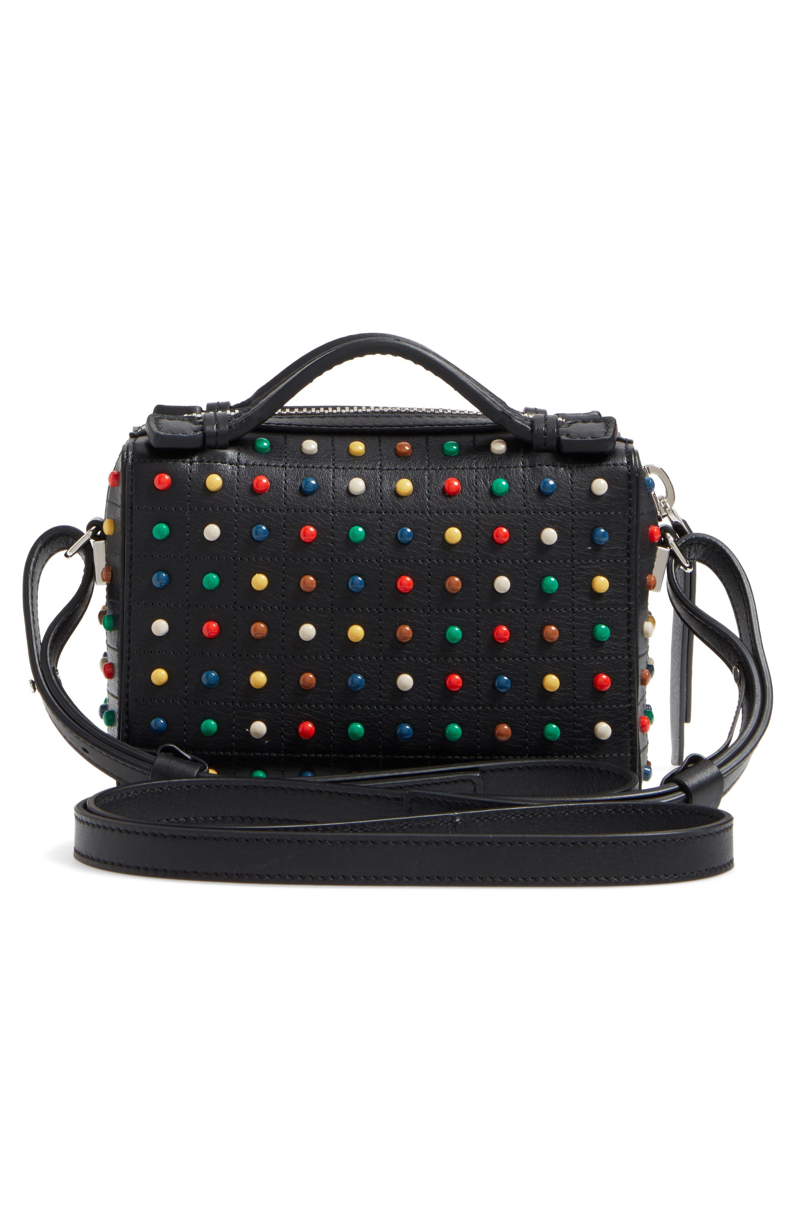 Alternate Image 3  - Tod's Micro Diodon Rainbow Studded Leather Bowler Bag