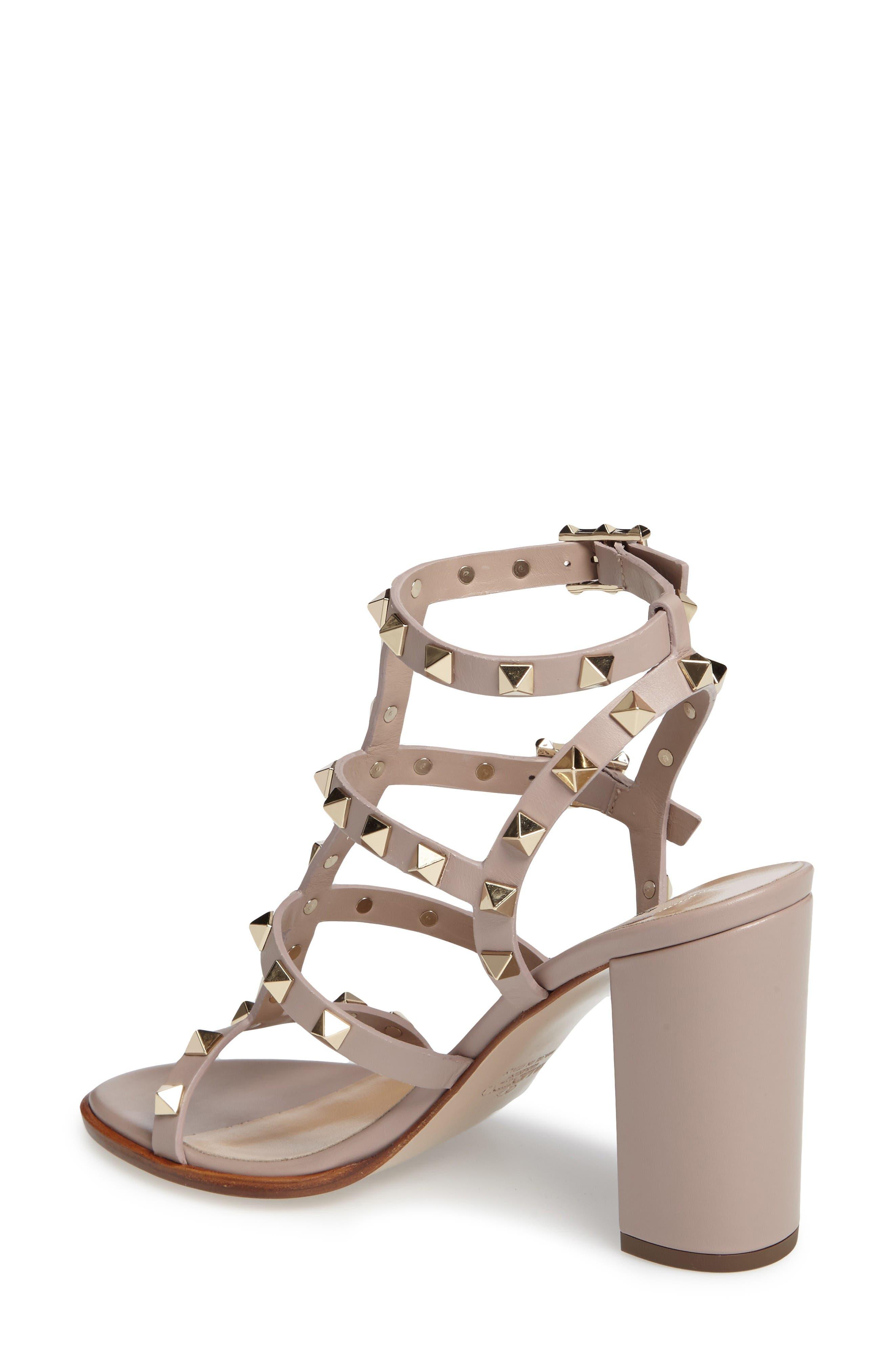 Alternate Image 2  - VALENTINO GARAVANI 'Rockstud' T-Strap Sandal (Women)