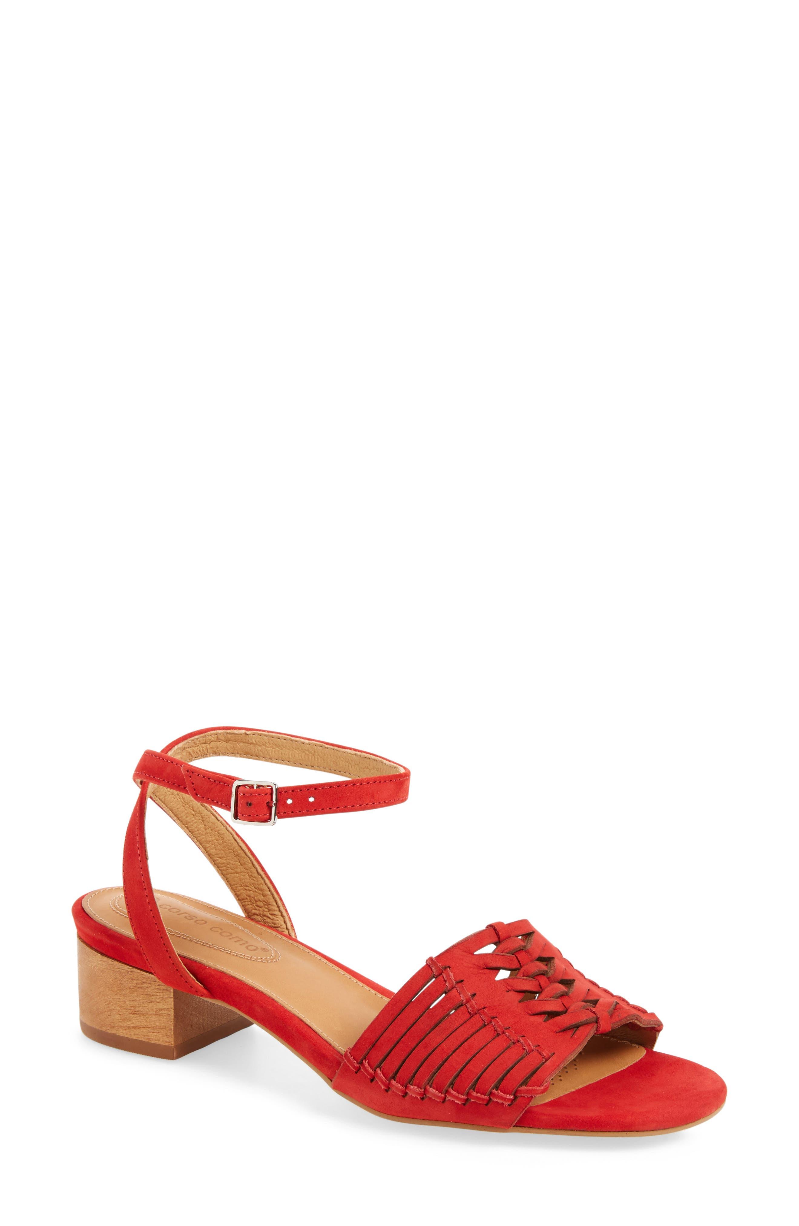 Corso Como Bahamas Block Heel Sandal (Women)