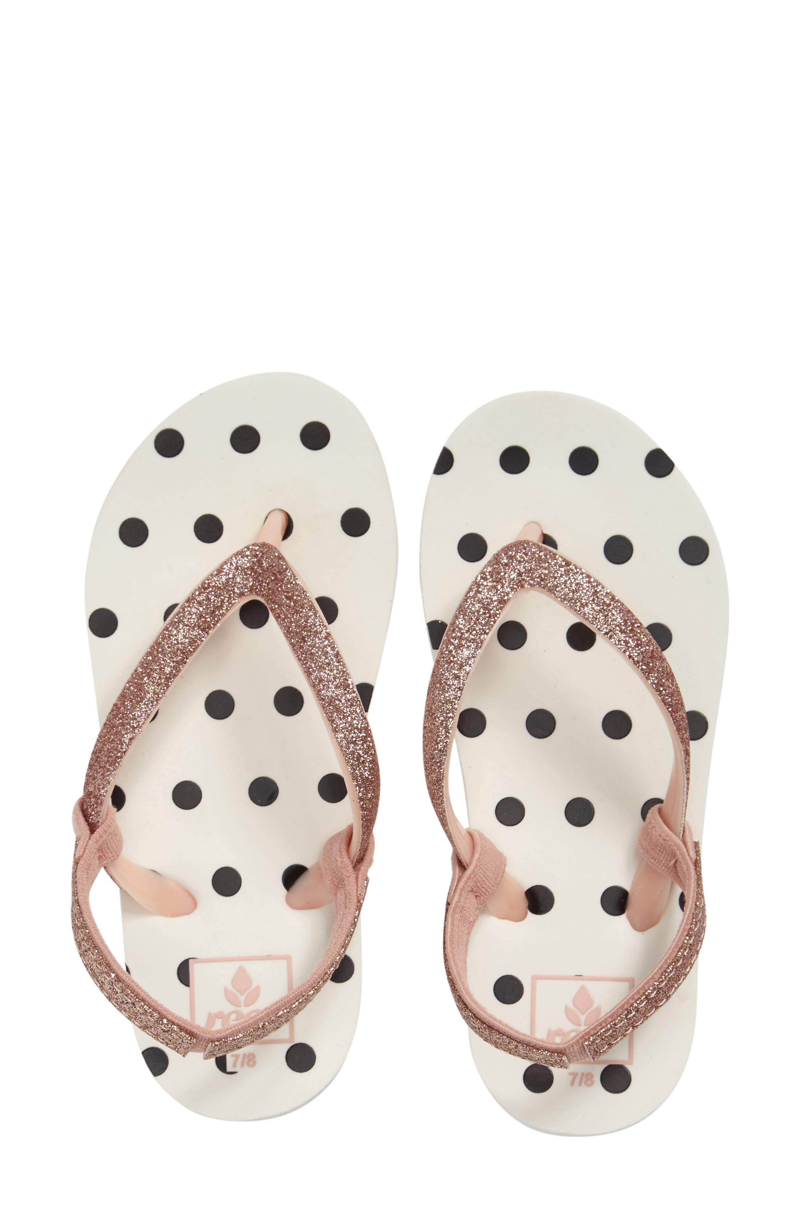 Reef Little Stargazer Print Flip Flop (Baby, Walker, Toddler, Little Kid & Big Kid)