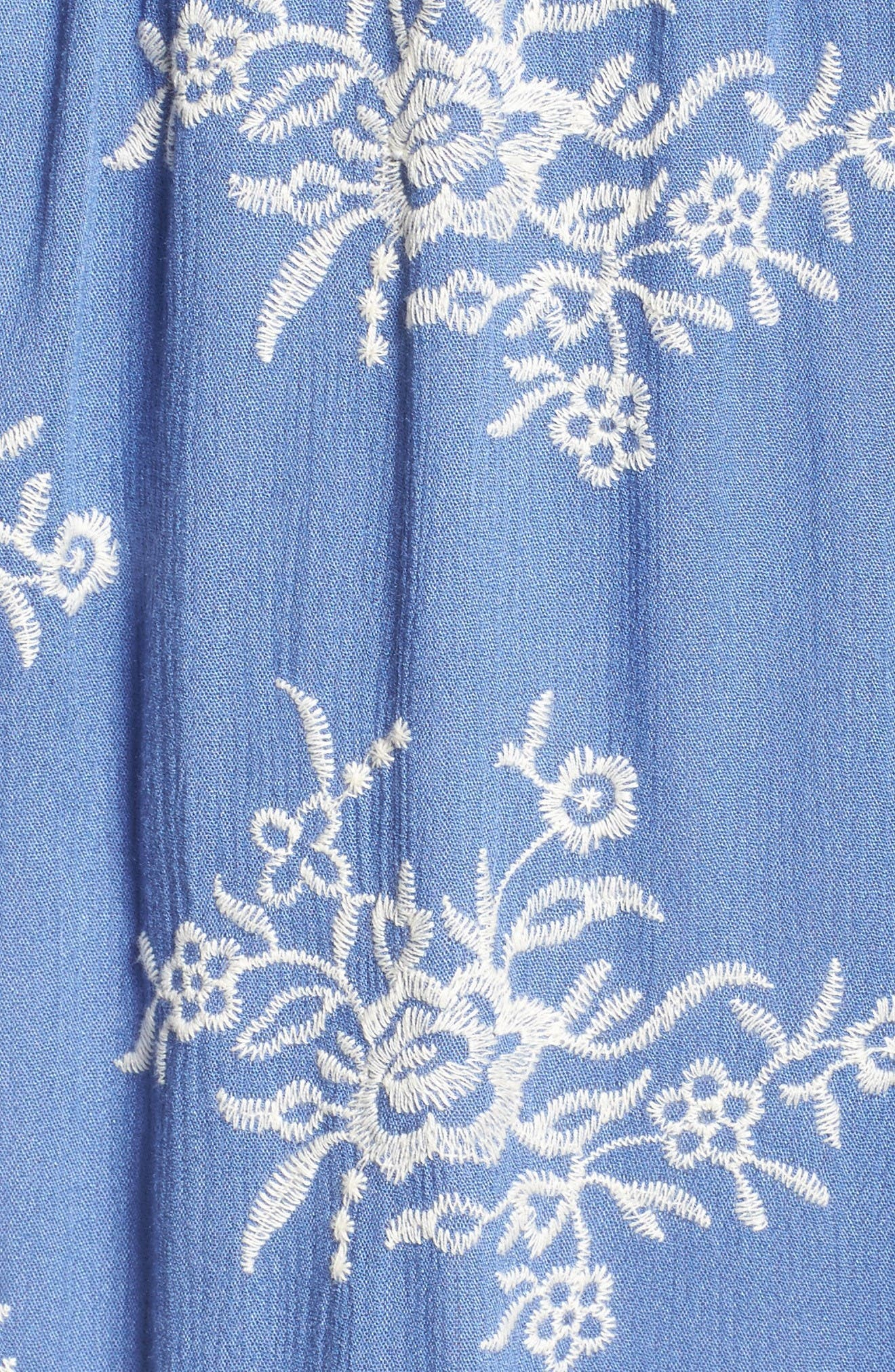 Alternate Image 5  - Fraiche by J Off the Shoulder Midi Dress