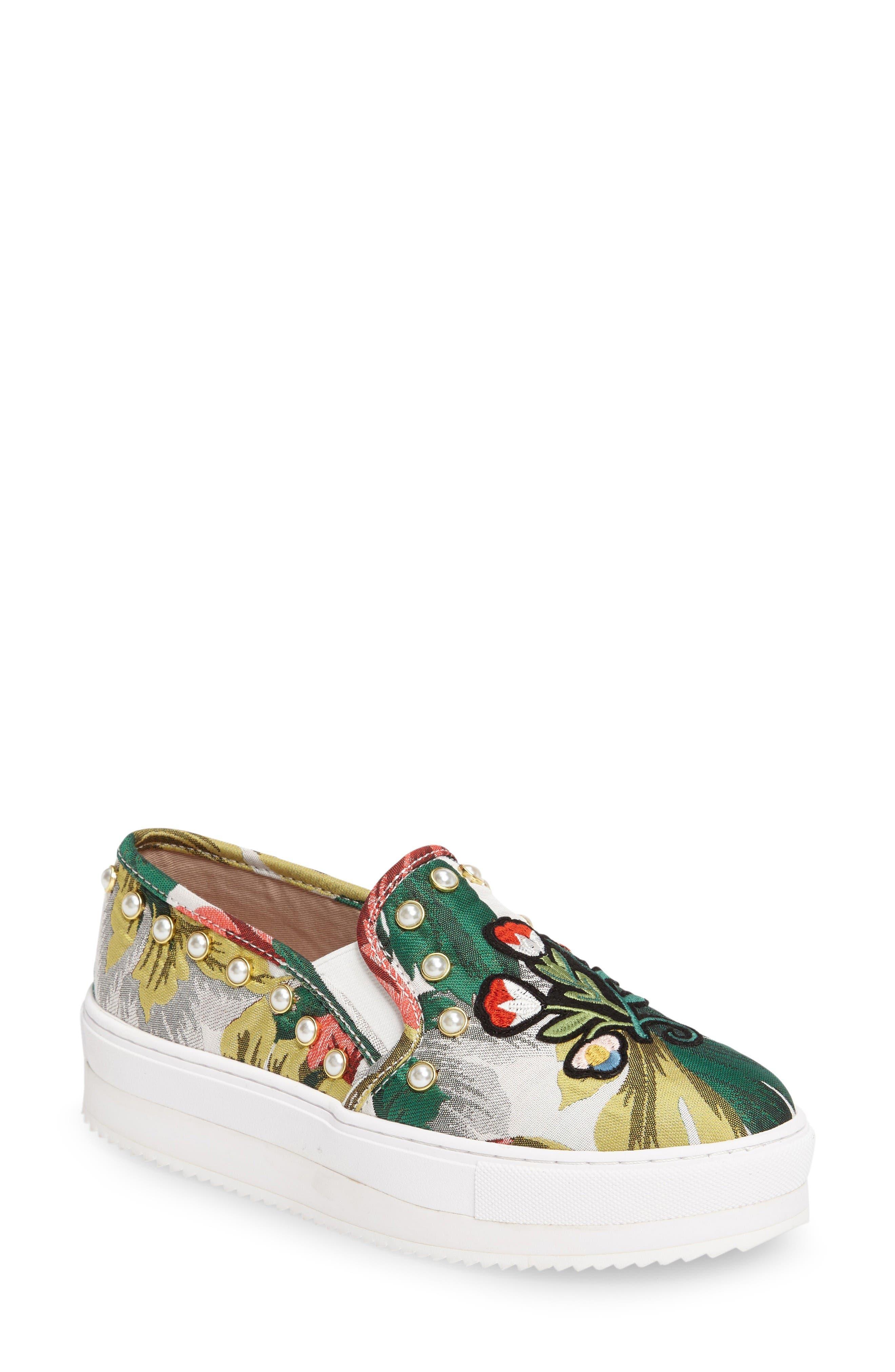 Alternate Image 1 Selected - Steve Madden Slick-P Platform Slip-On Sneaker (Women)