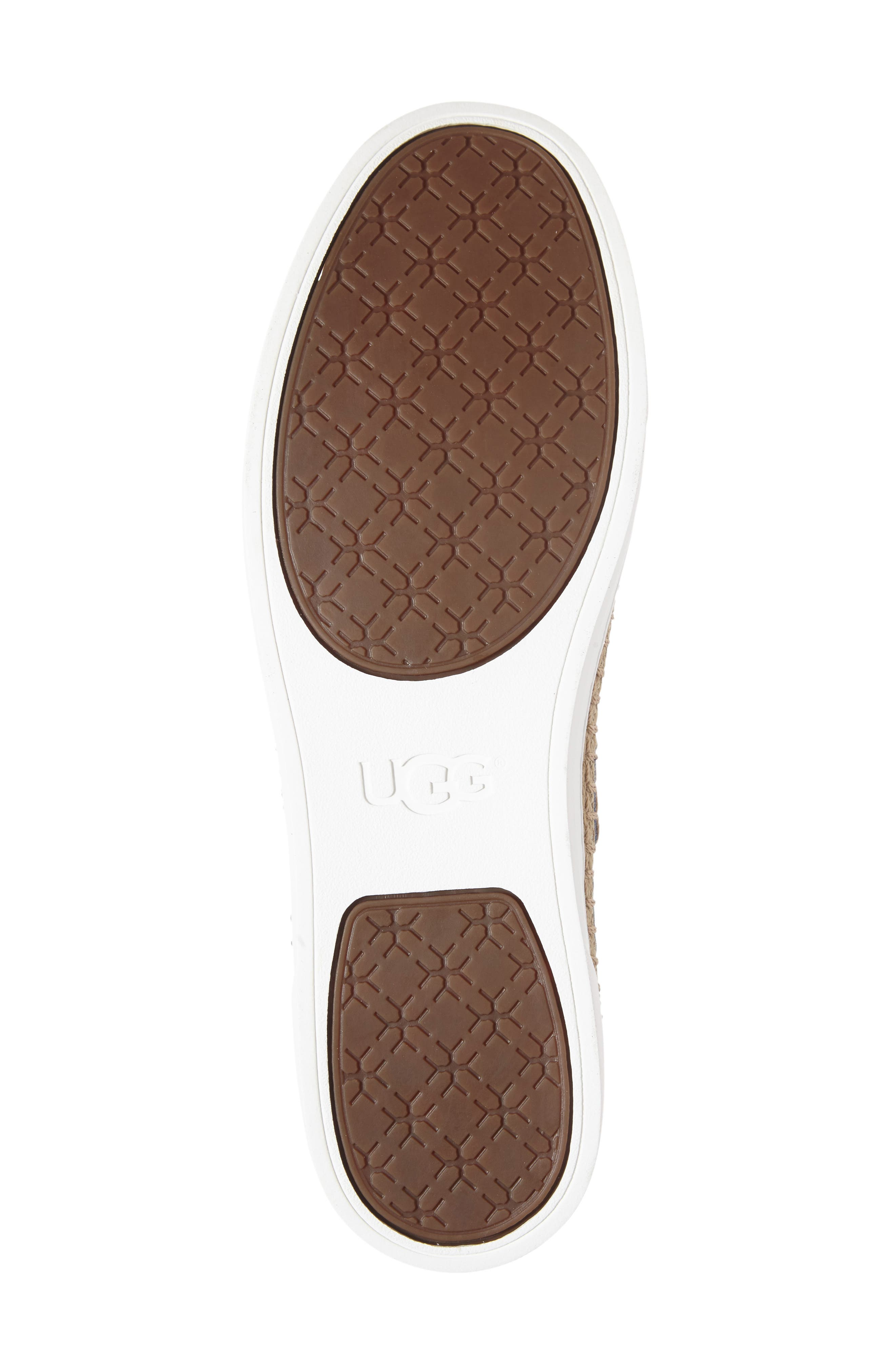 Alternate Image 4  - UGG® 'Eyan II' Canvas Sneaker (Women)