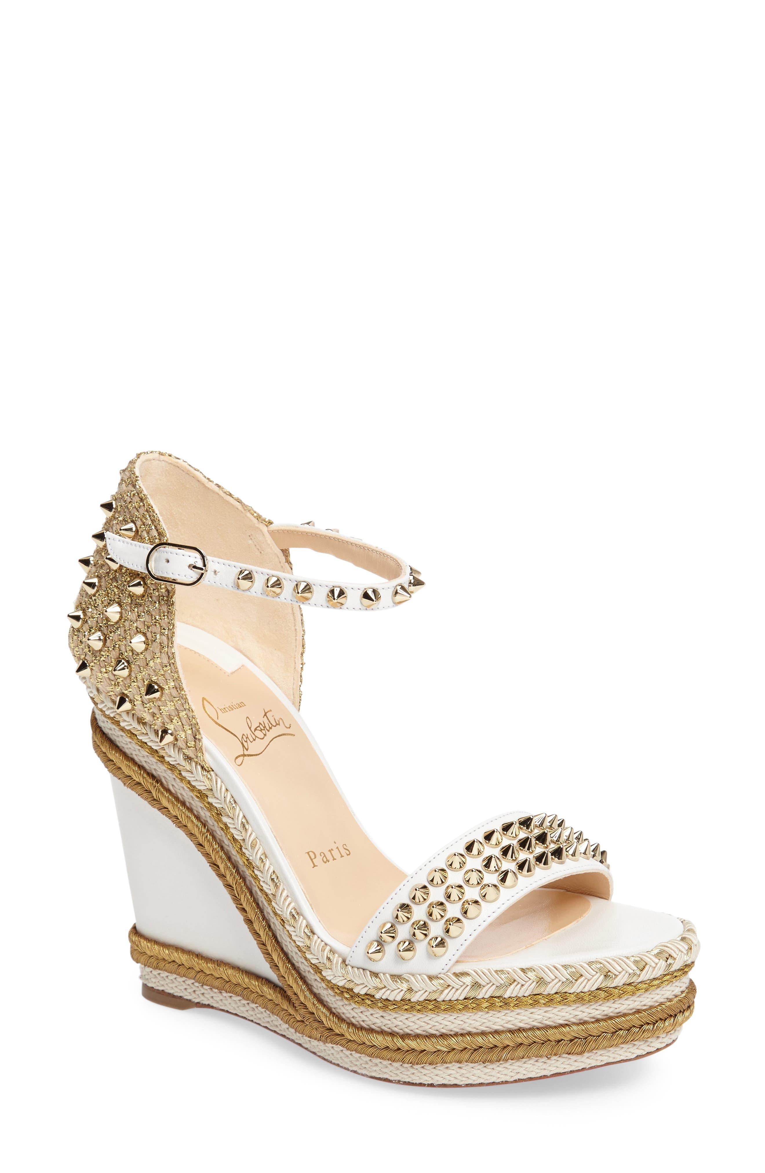 Christian Louboutin Madmonica Platform Sandal (Women)