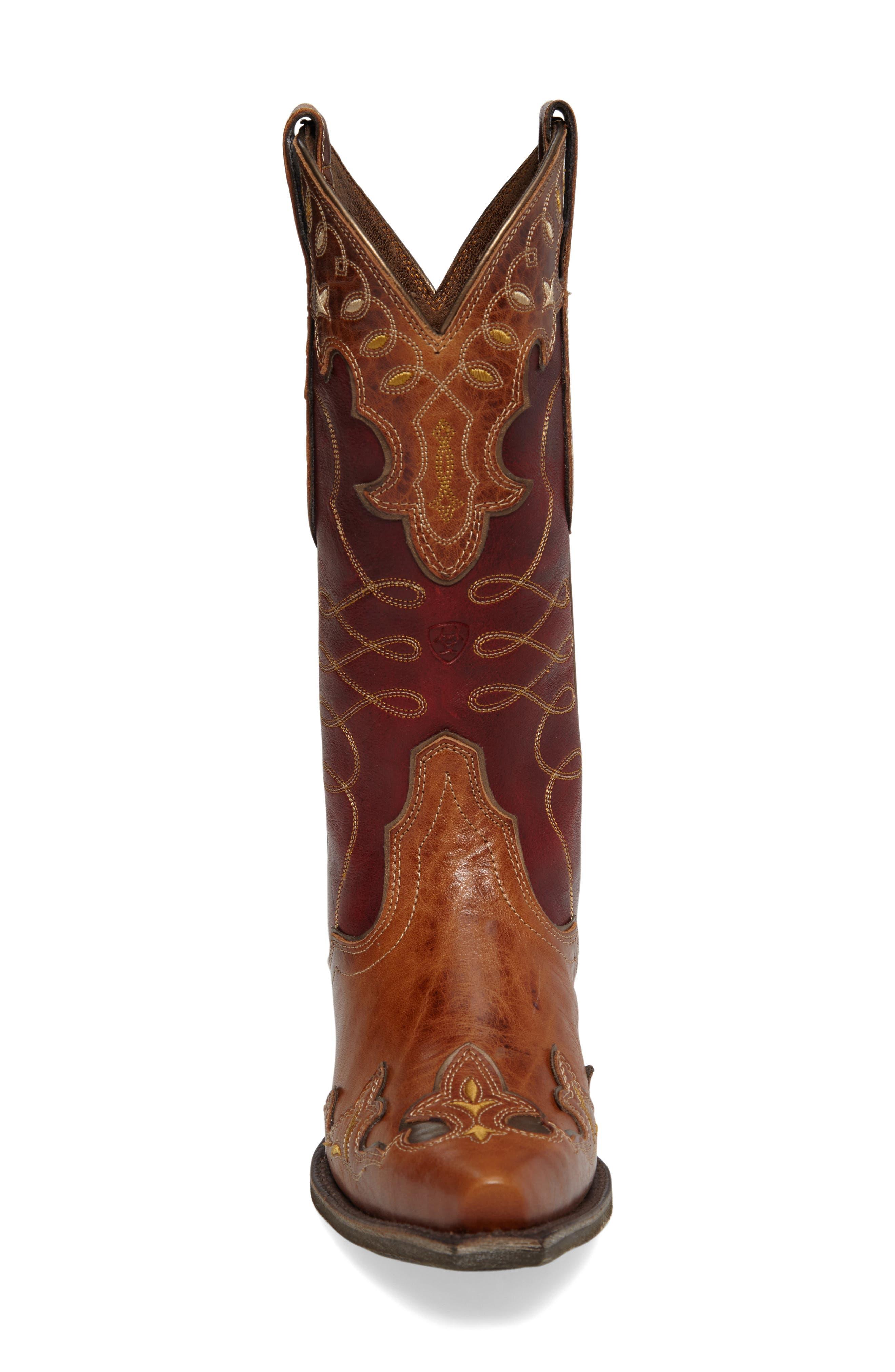 Alternate Image 3  - Ariat Zealous Wingtip Western Boot (Women)
