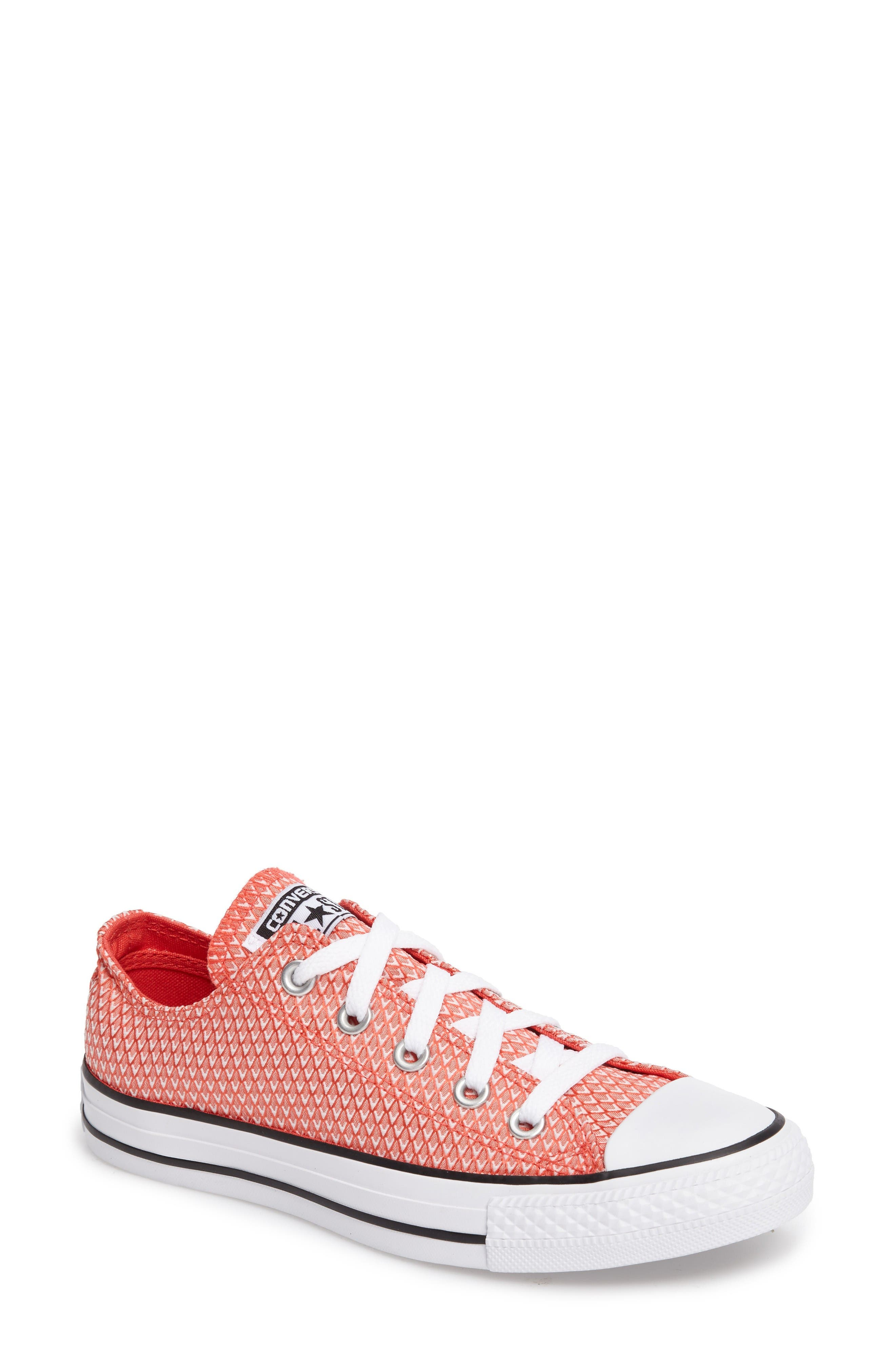 Alternate Image 1 Selected - Converse Chuck Taylor® All Star® Woven Ox Sneaker (Women)