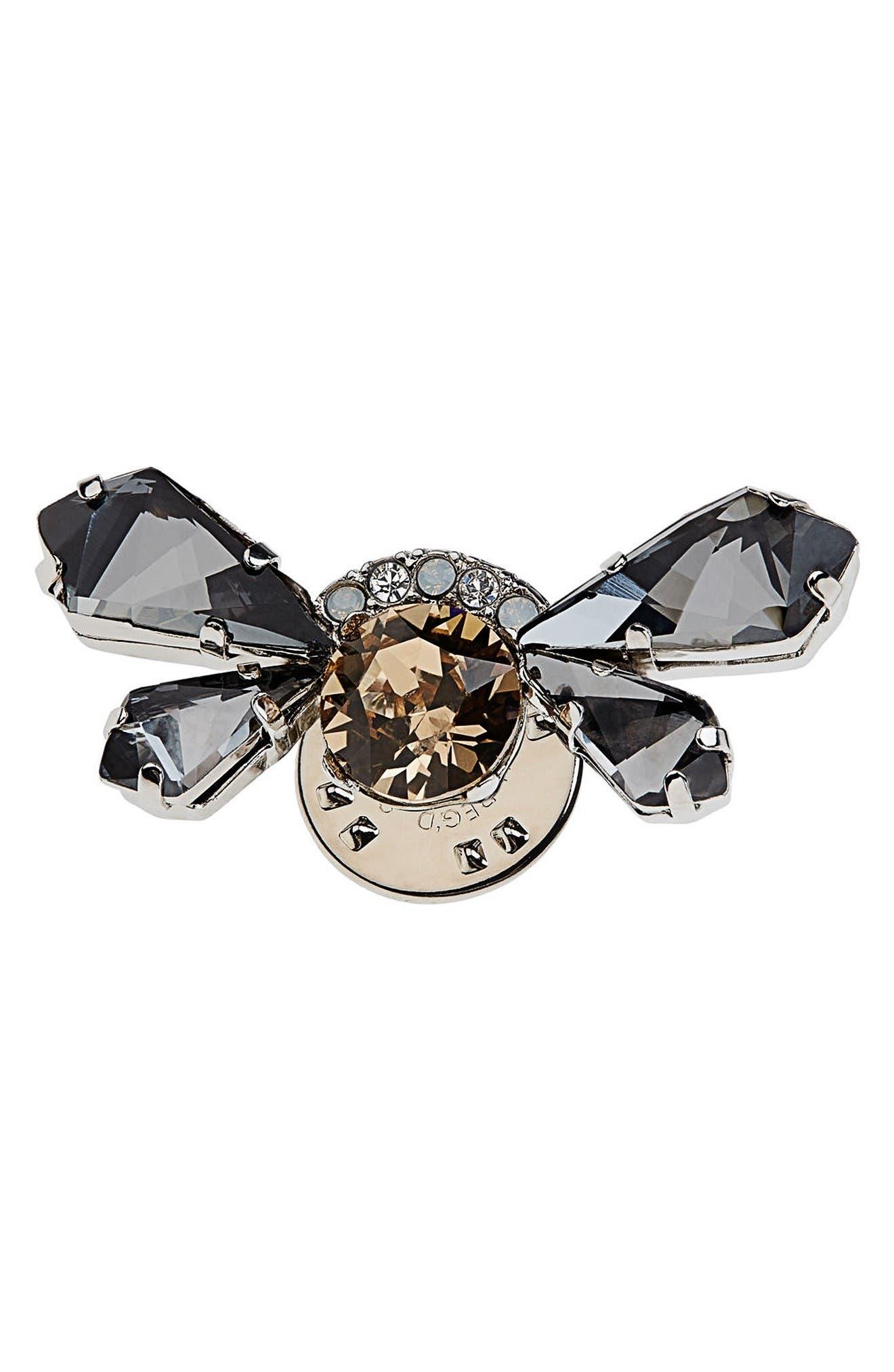 Alternate Image 1 Selected - Maison Michel Treasure Peony Flying Brooch