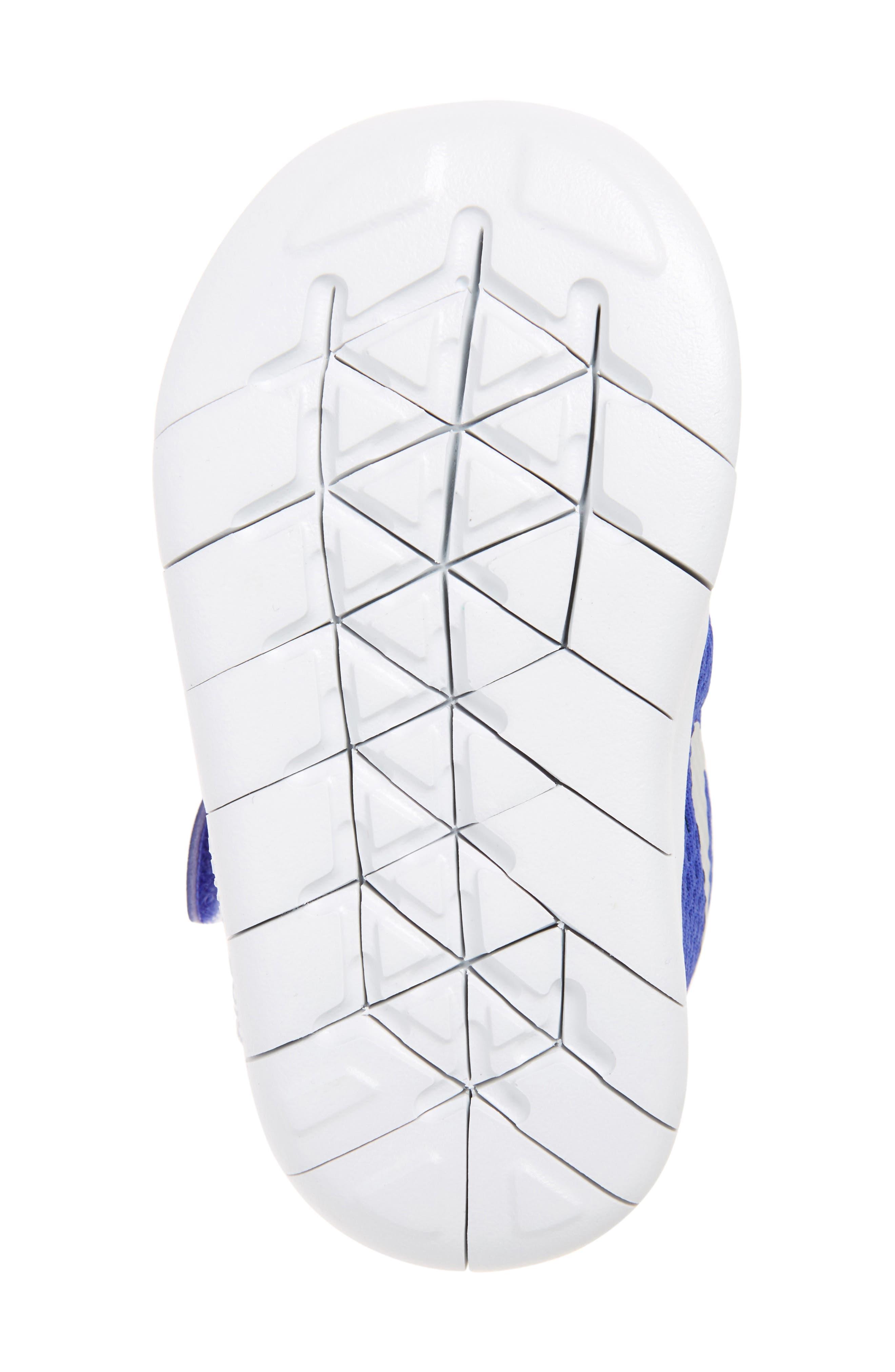 Alternate Image 4  - Nike Free RN Sneaker (Baby, Walker & Toddler)
