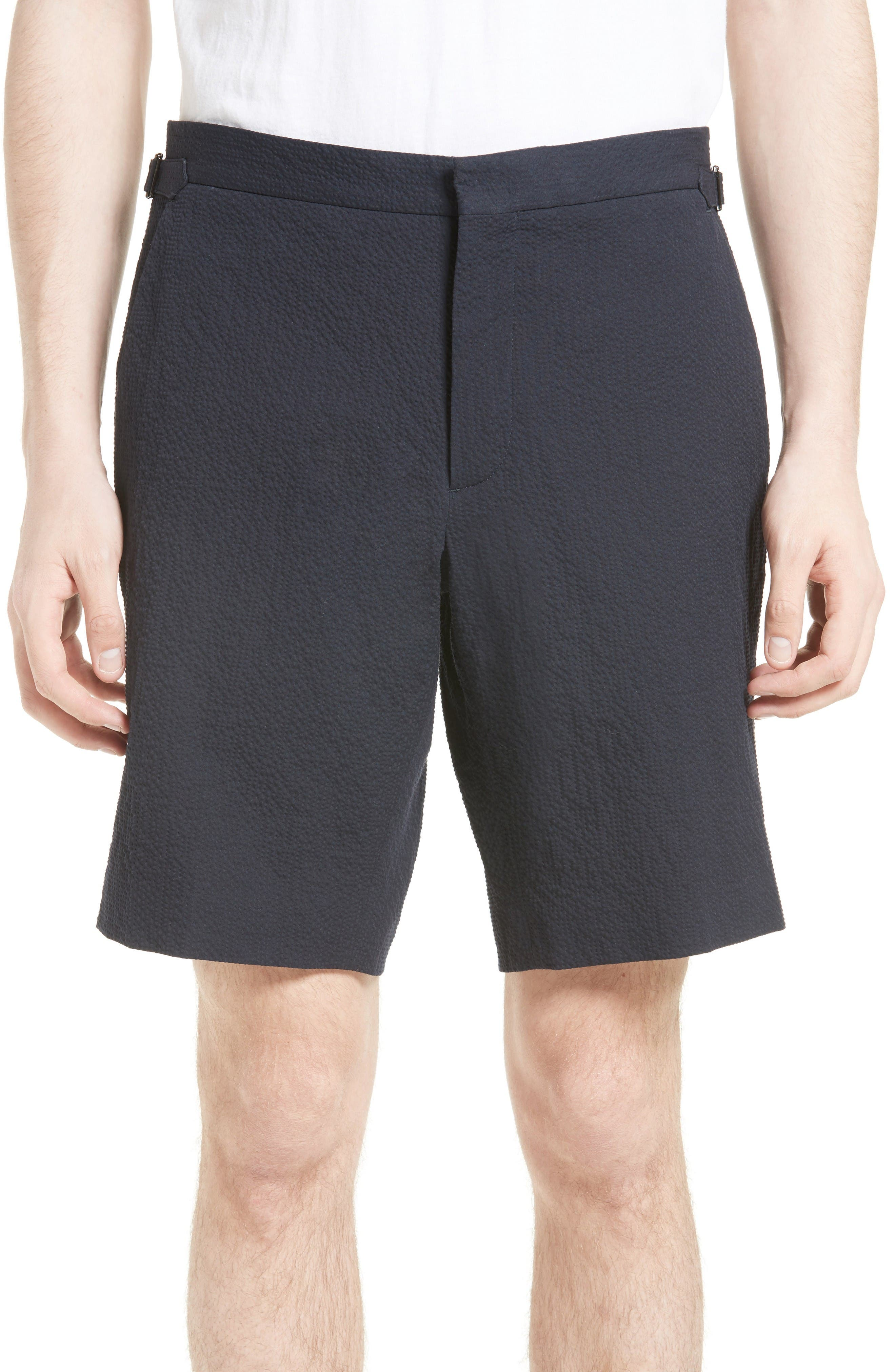 Burberry Dolan Flat Front Shorts